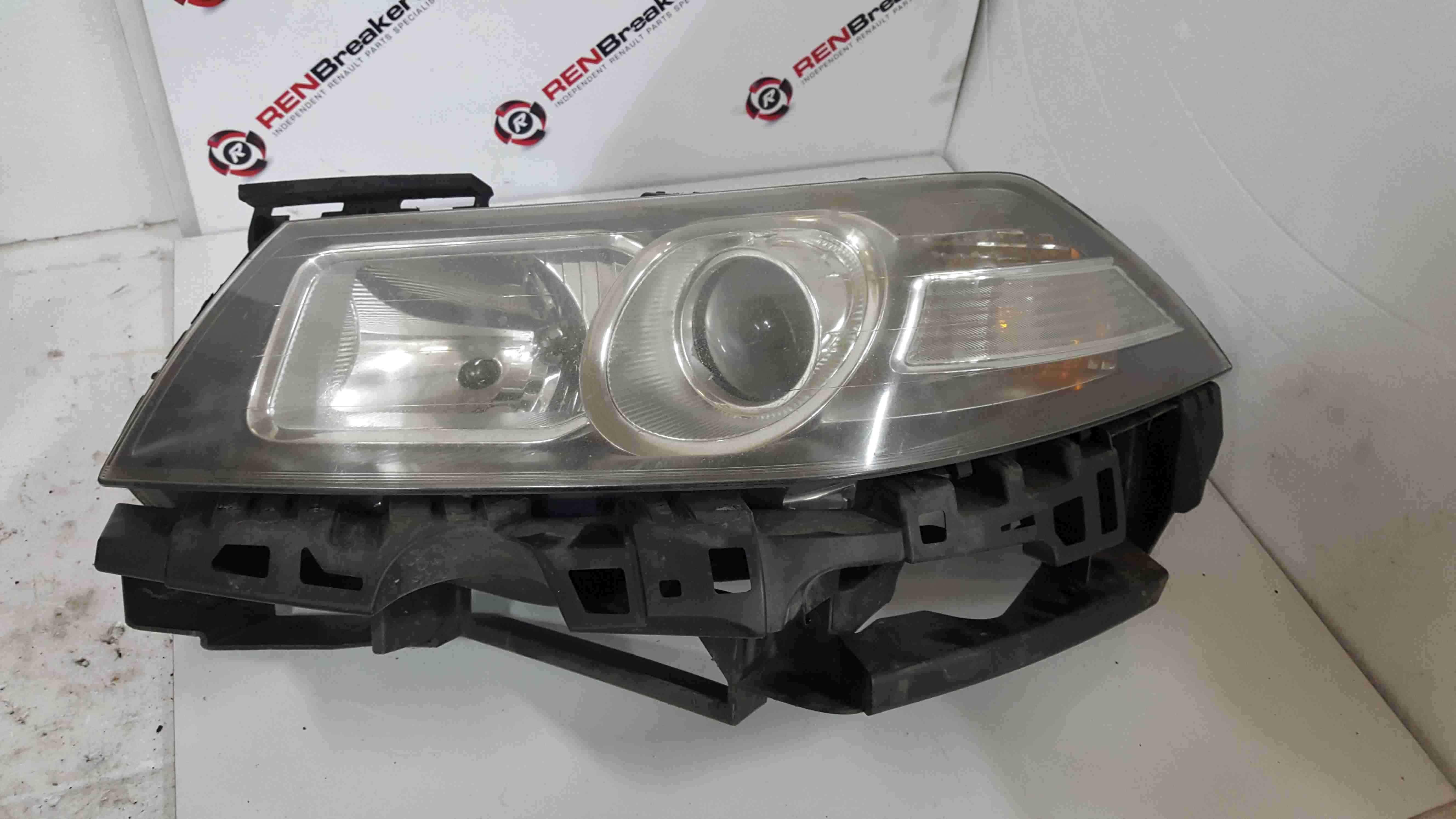 Renault Megane MK2 2006-2008 Passenger NSF Front Headlight 8200648013