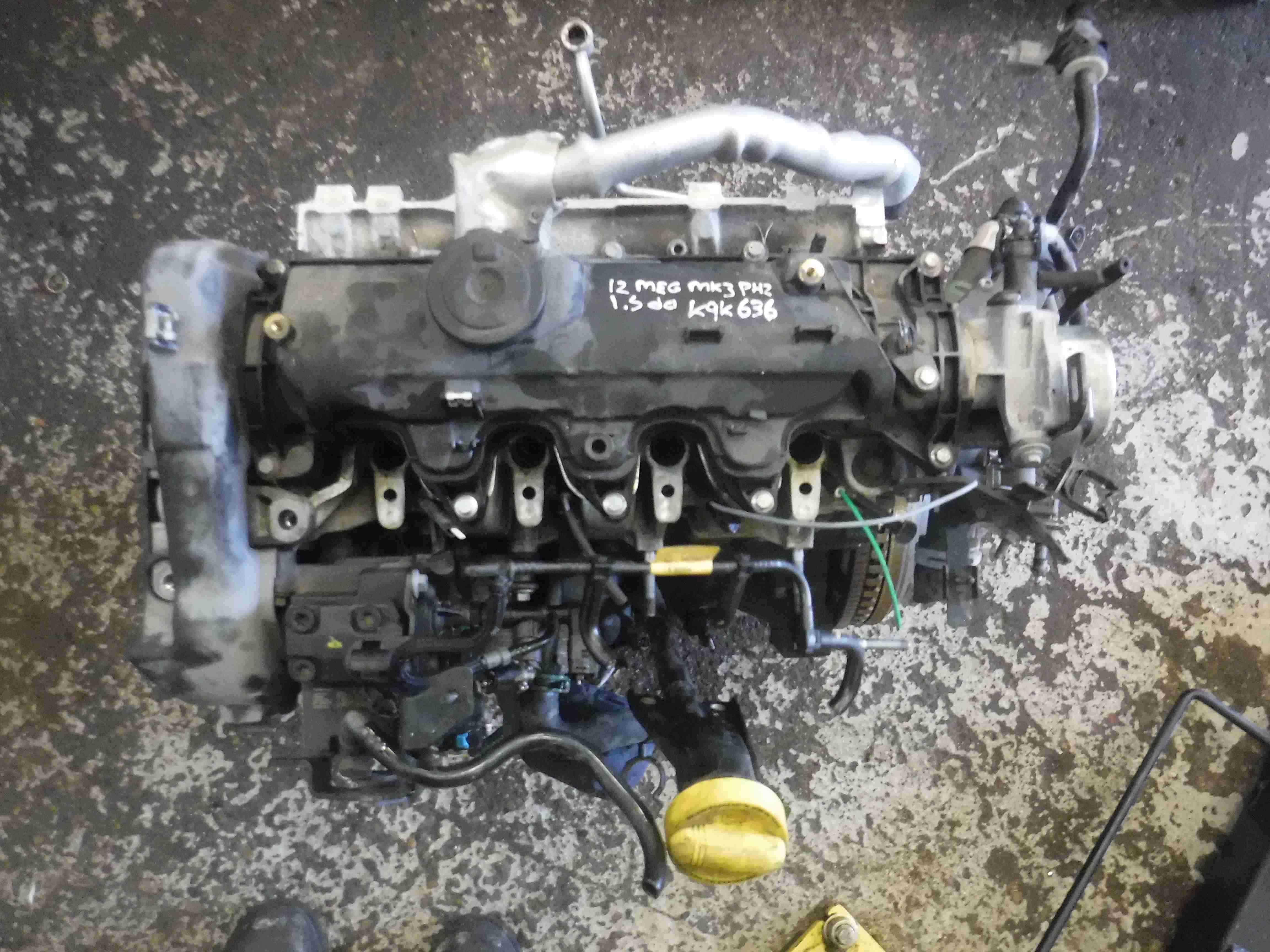 Renault Megane + Scenic MK3 2008-2014 1.5 dCi Engine K9K 636