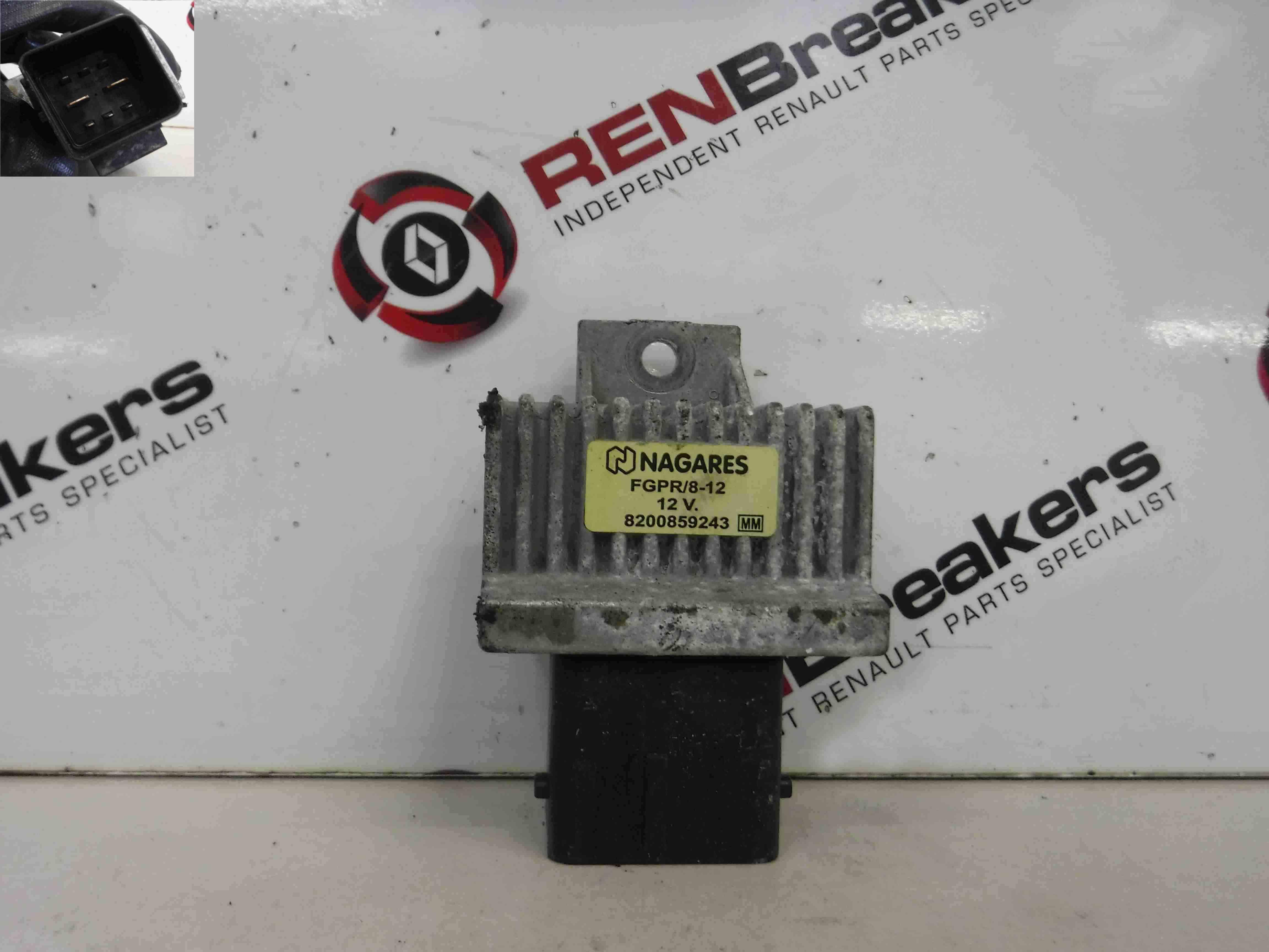 Renault Megane  Scenic MK3 2008-2014 1.5 dCi Glow Plug Relay 8200859243