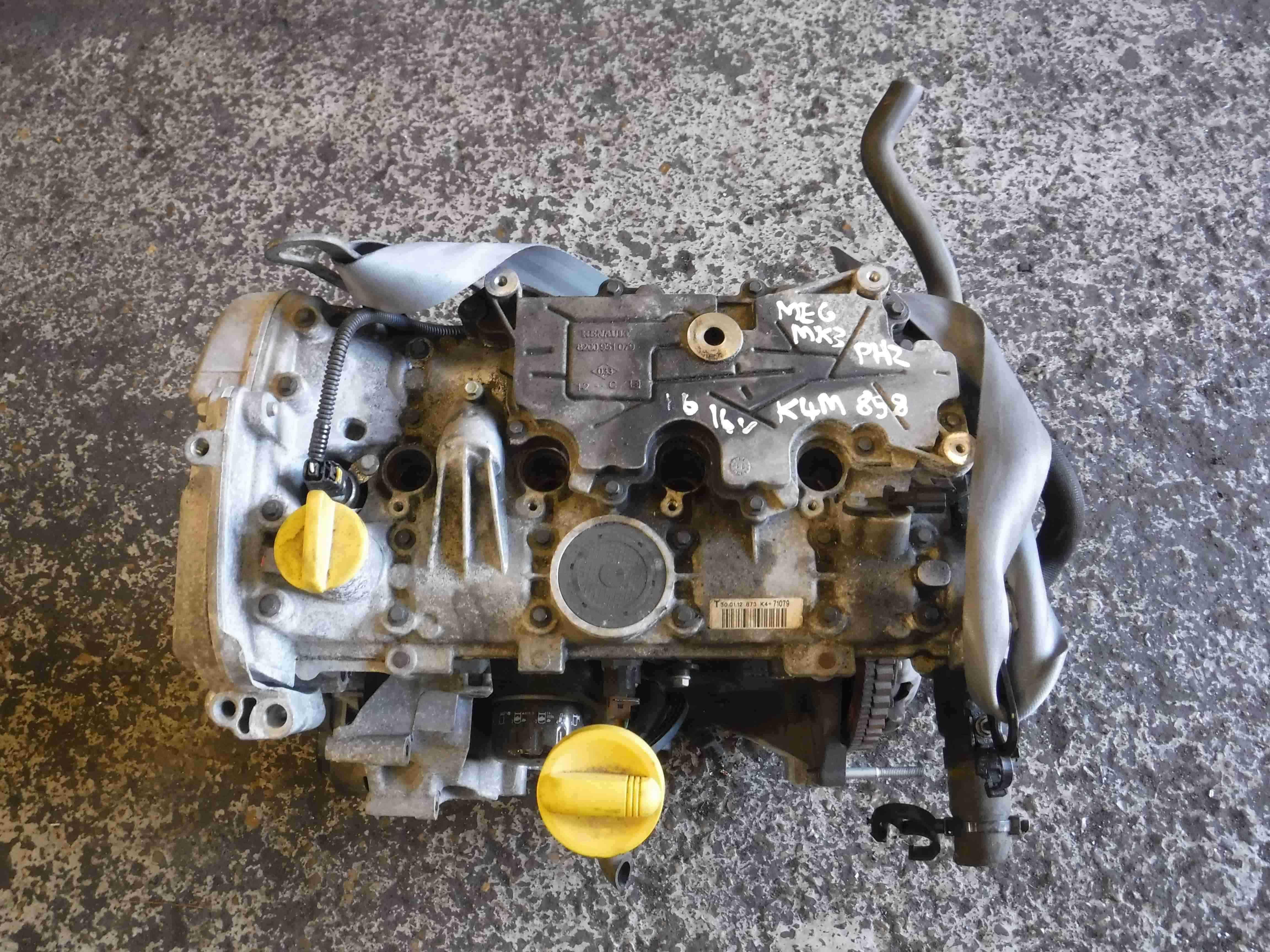Renault Megane MK3 2008-2014 1.6 16v Engine K4M 858 K4M858