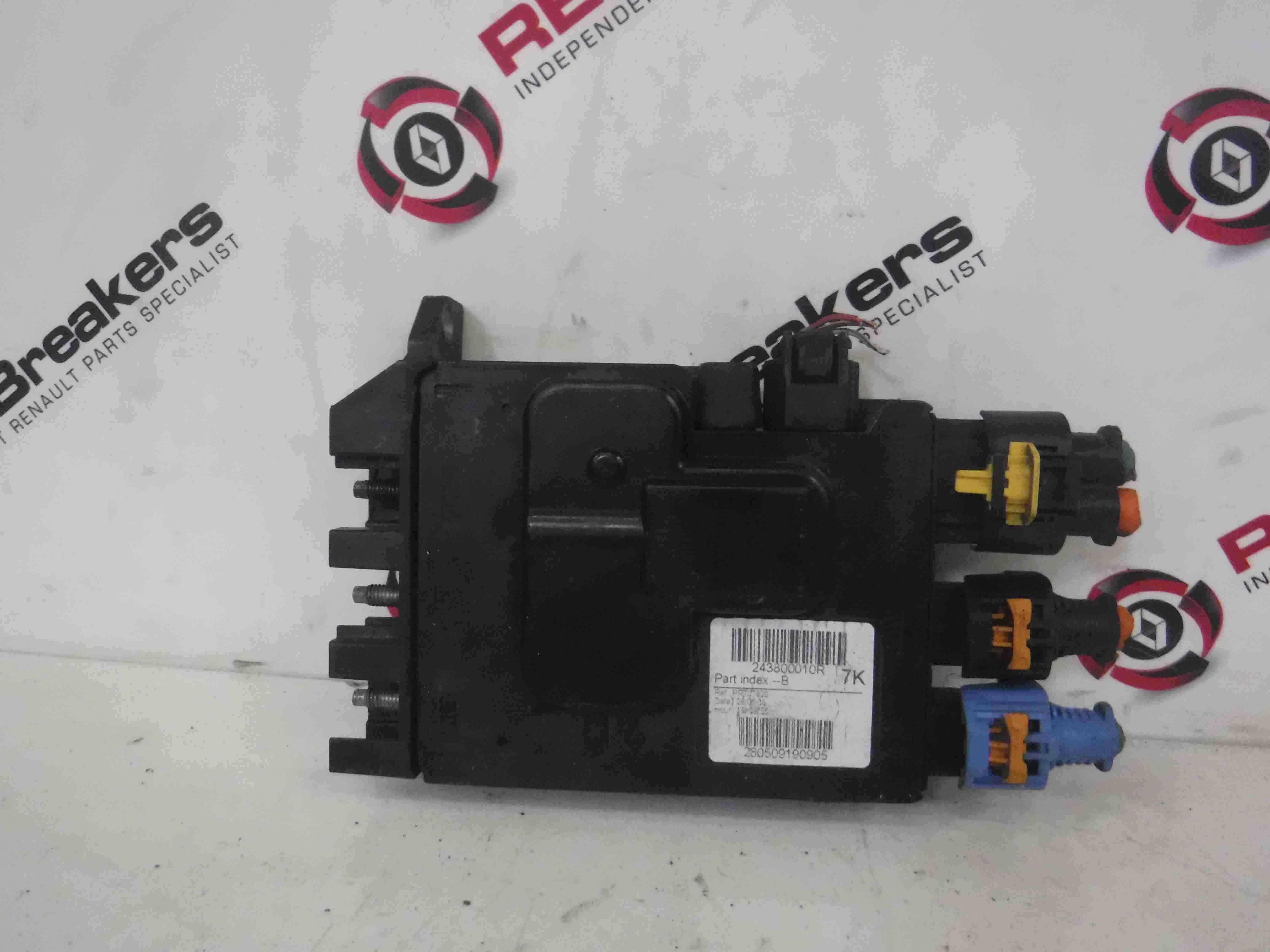 Renault Megane MK3 2008-2014 1.6 Battery Fuse Box 243800010R