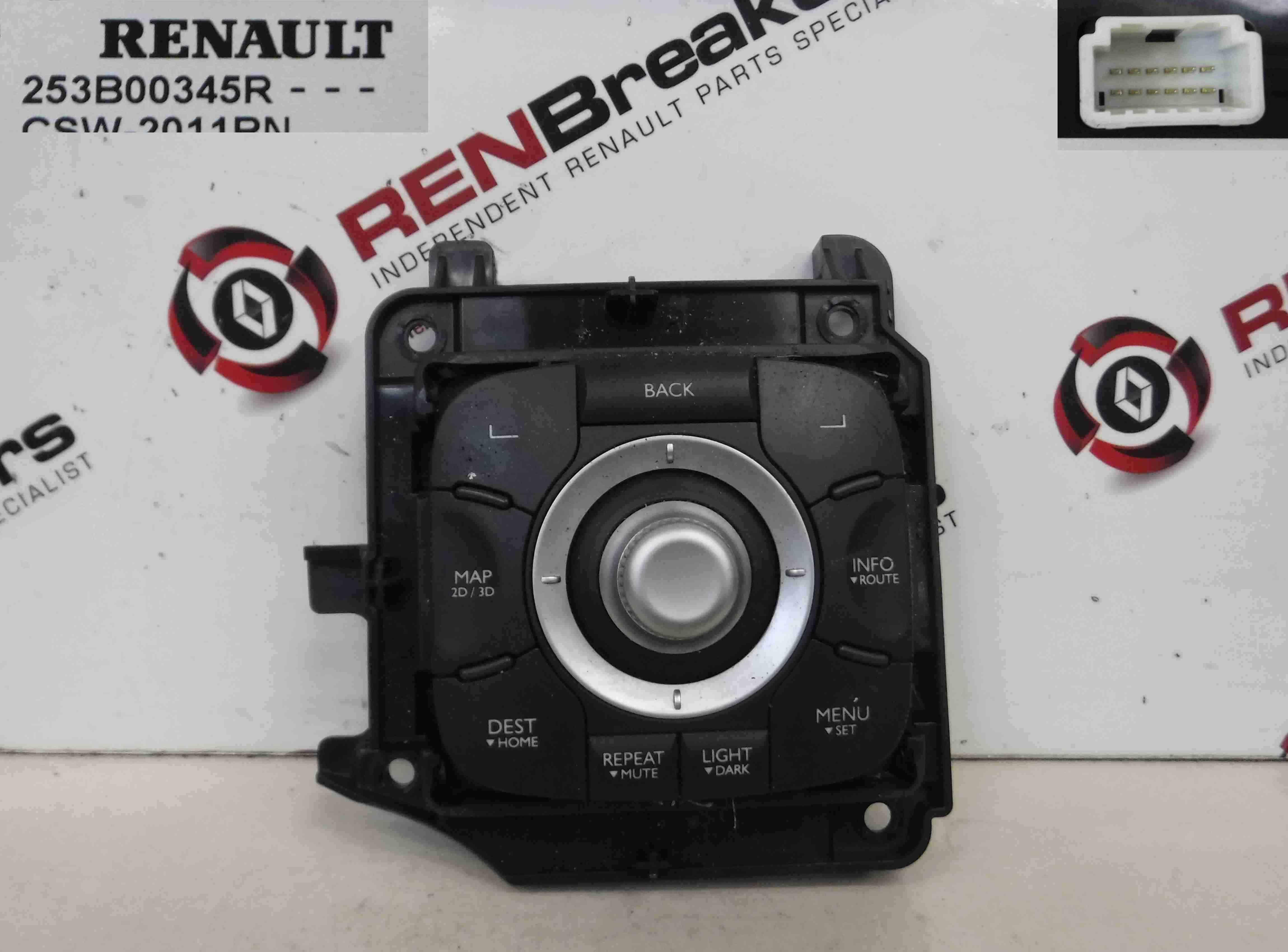 Renault Megane + Scenic MK3 2008-2014 Multi Media Centre Control Unit 253B00345R