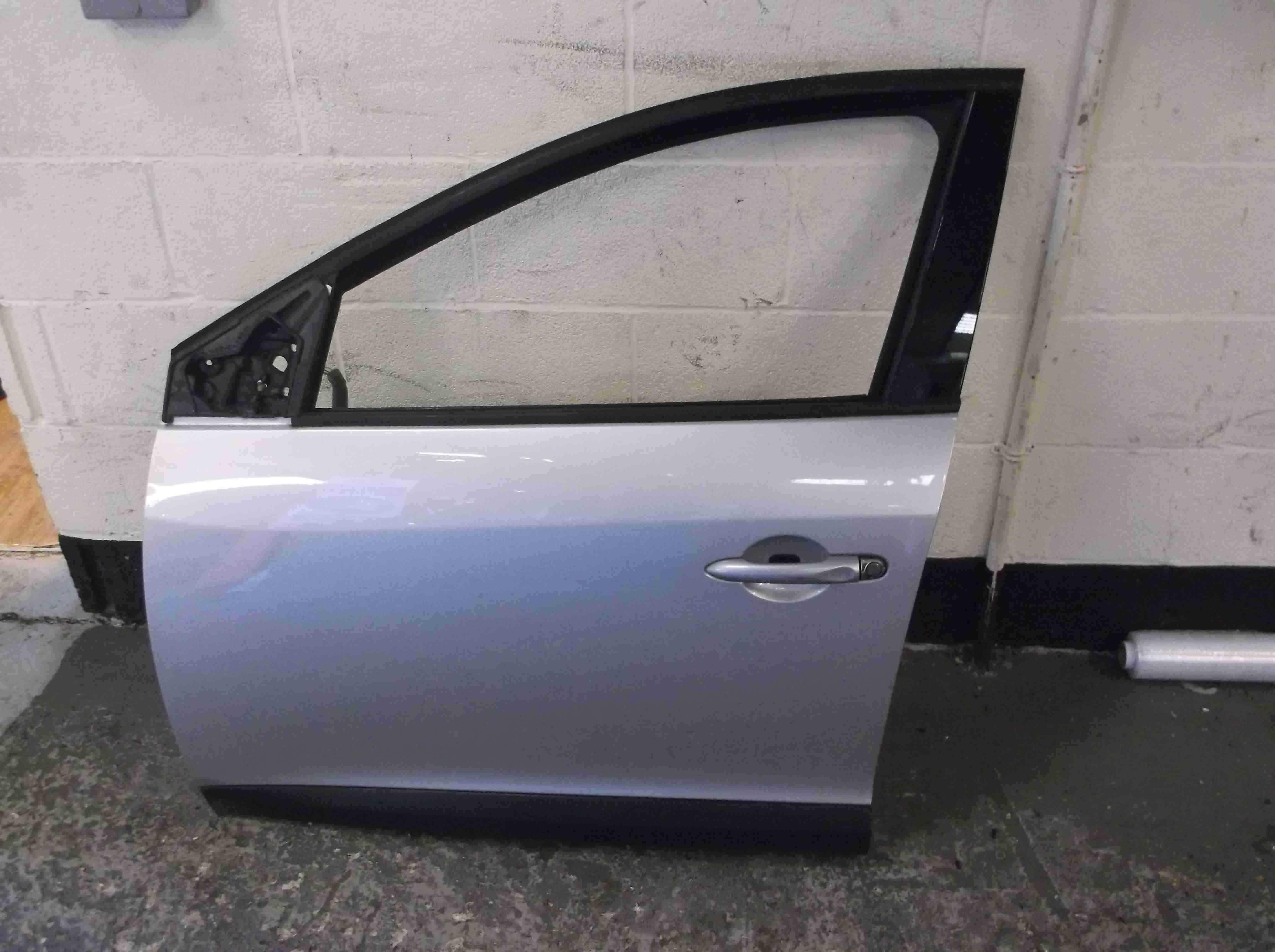 Renault Megane MK3 2008-2014 Passenger NSF Front Door Silver TED69 5DR