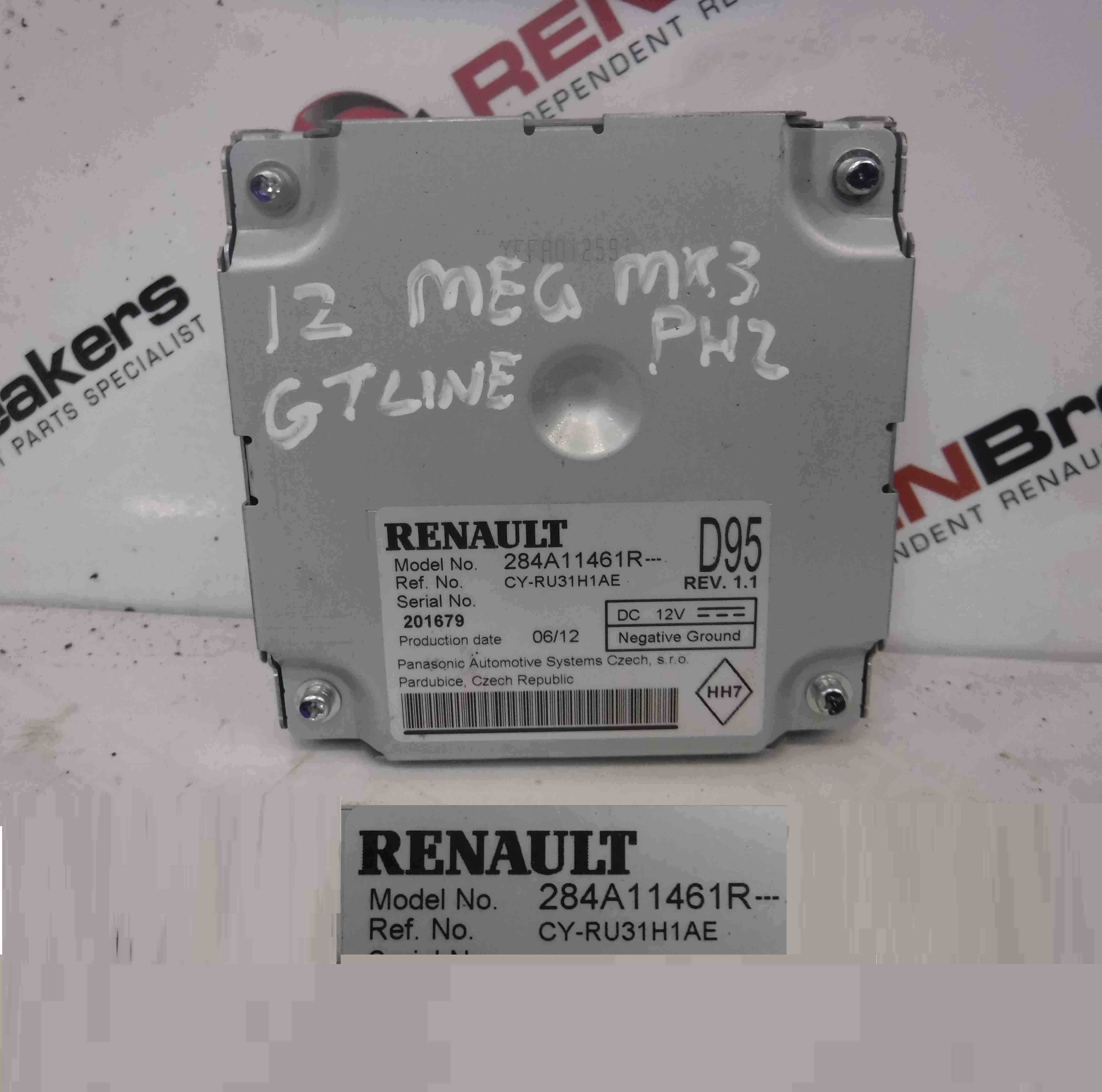 Renault Megane MK3 2008-2014 Reversing Camera Control Unit Module 284A11461R