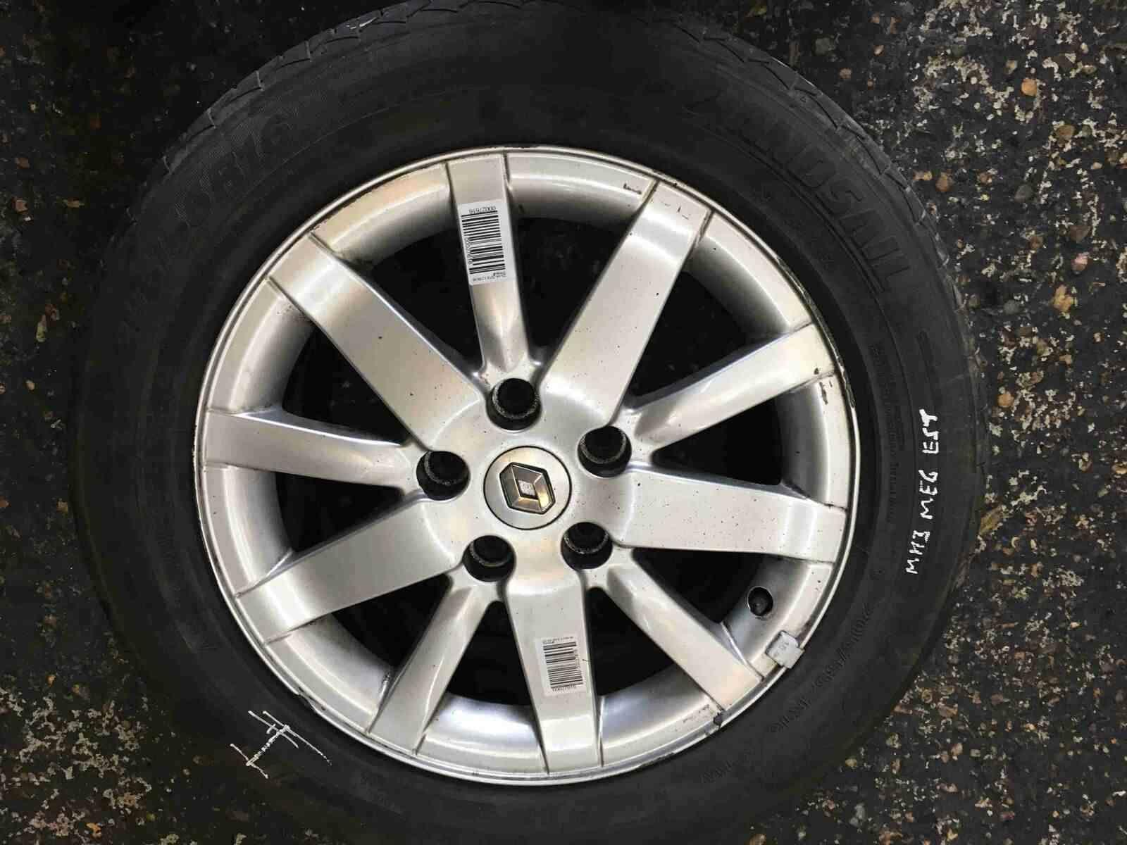 Renault Megane MK3 2008-2014 Spirale Alloy Wheel +Tyre 205 55 16 6mm 5/5