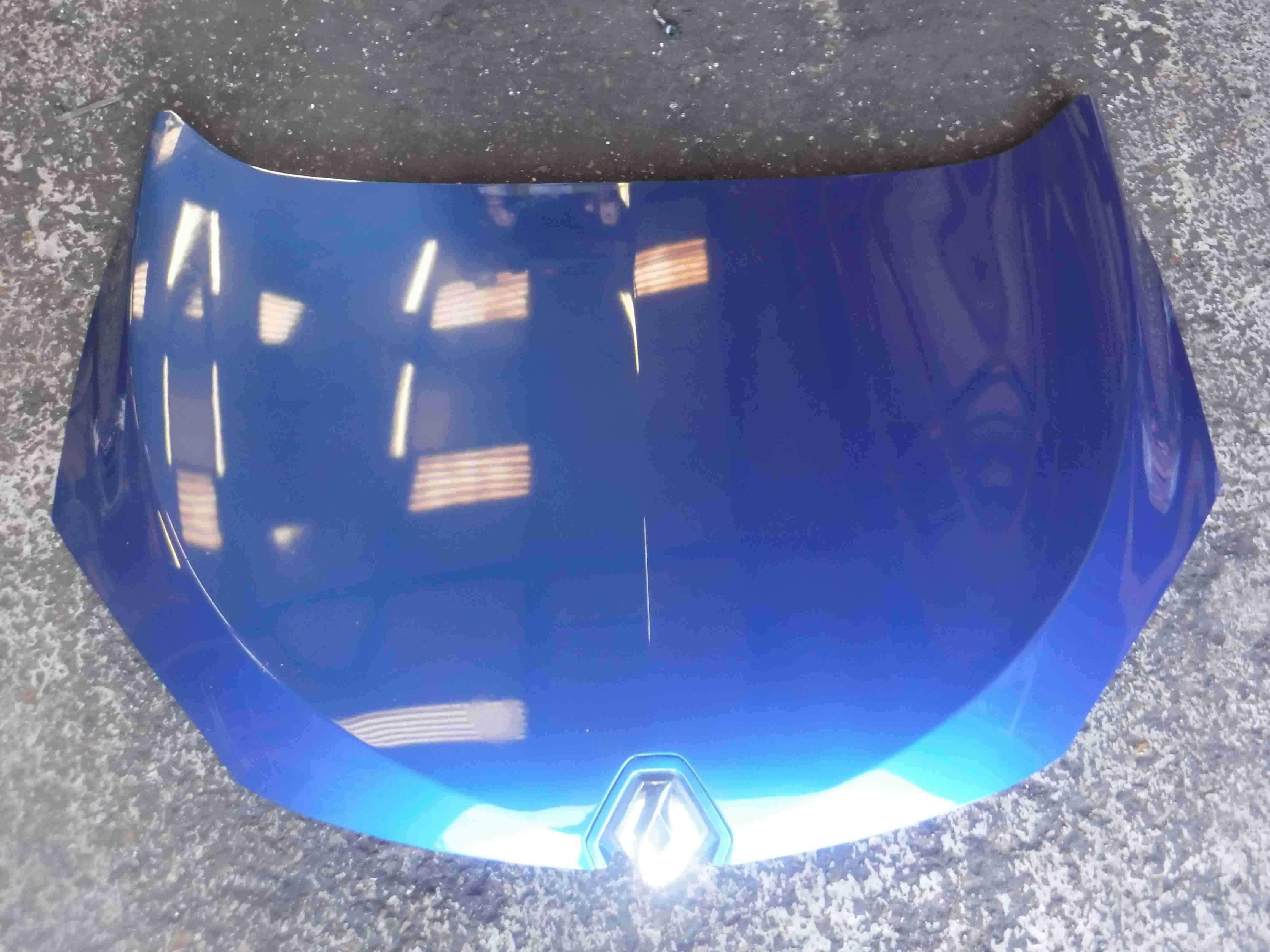 Renault Megane MK3 Hatchback 2008-2012 Front Bonnet Blue TERNA
