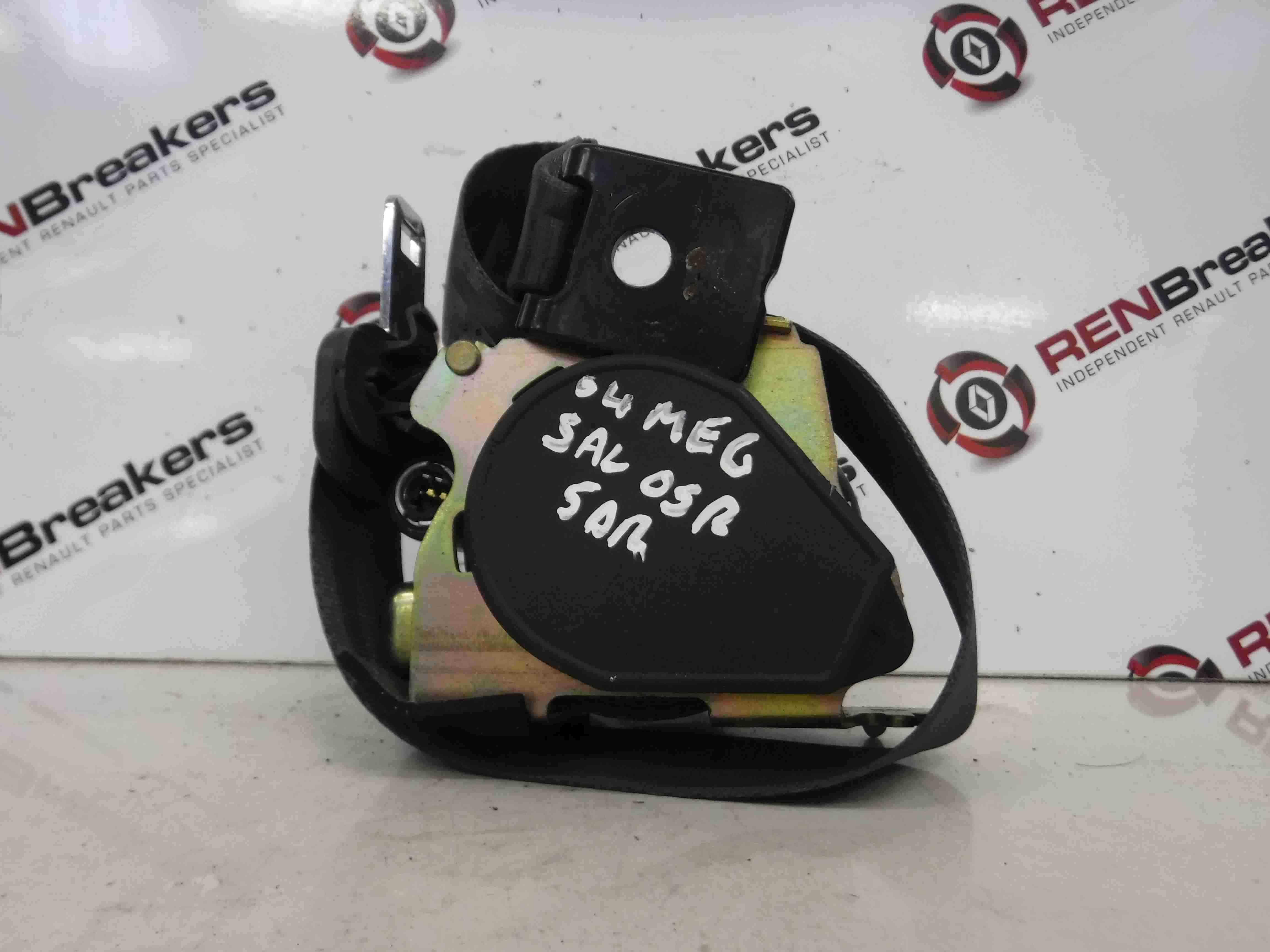 Renault Megane 2002-2008 Drivers OSR Rear Seatbelt 5dr