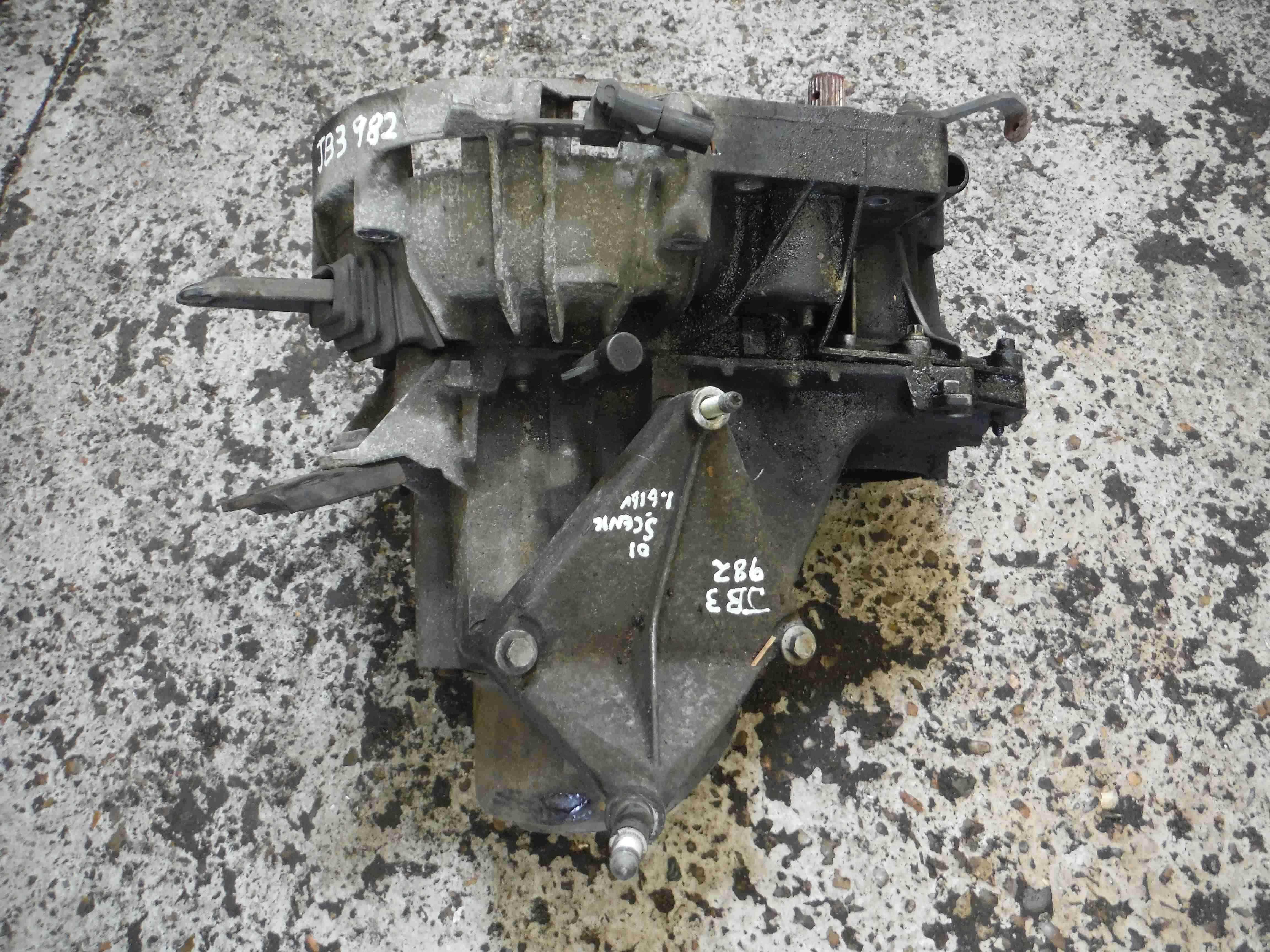 Renault Megane Scenic 1999-2003 1.6 16v Gearbox JB3 982 JB3982