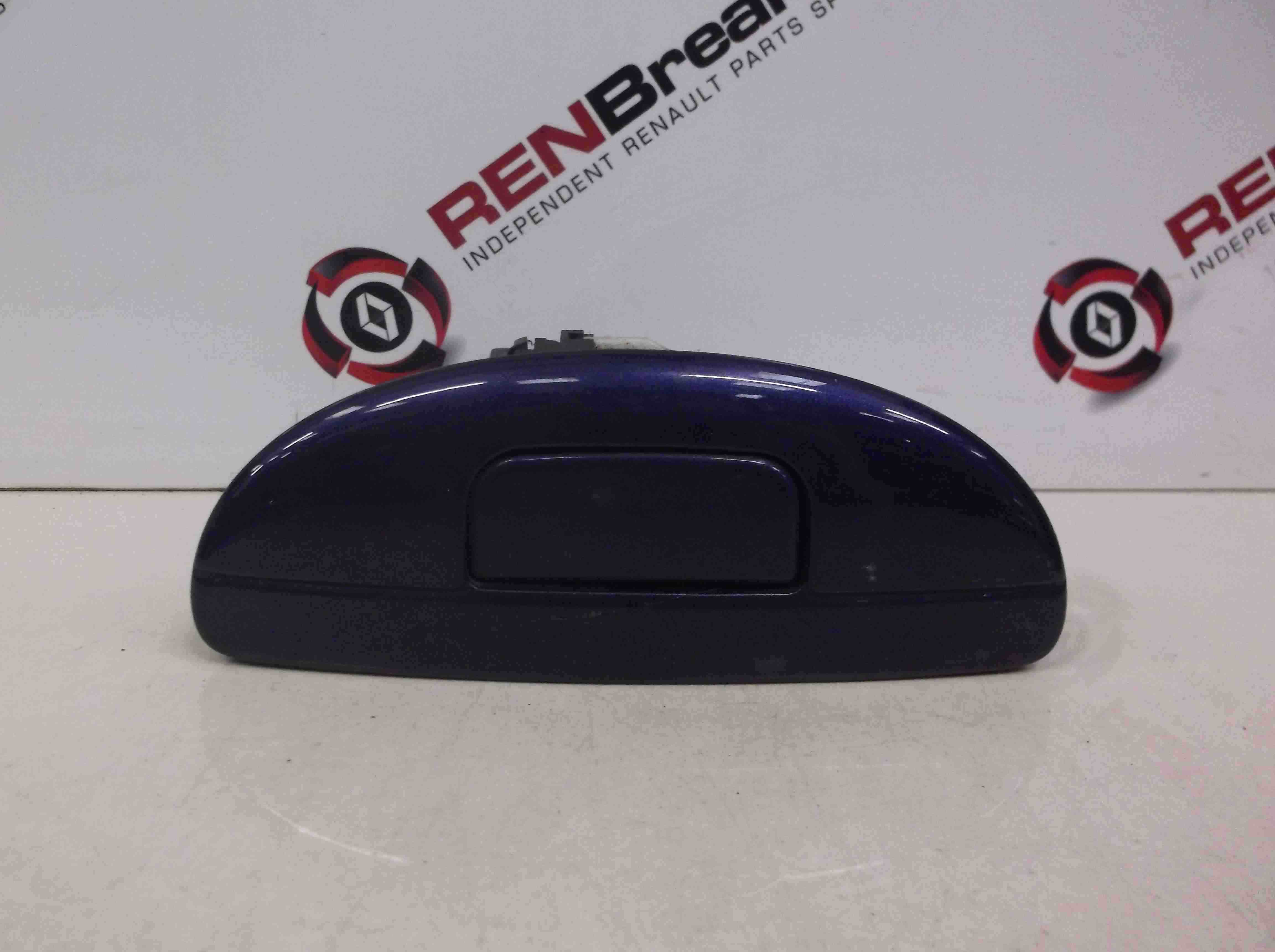 Renault Megane Scenic 1999-2003 Boot Lock Button  Mechanism Blue TEF43