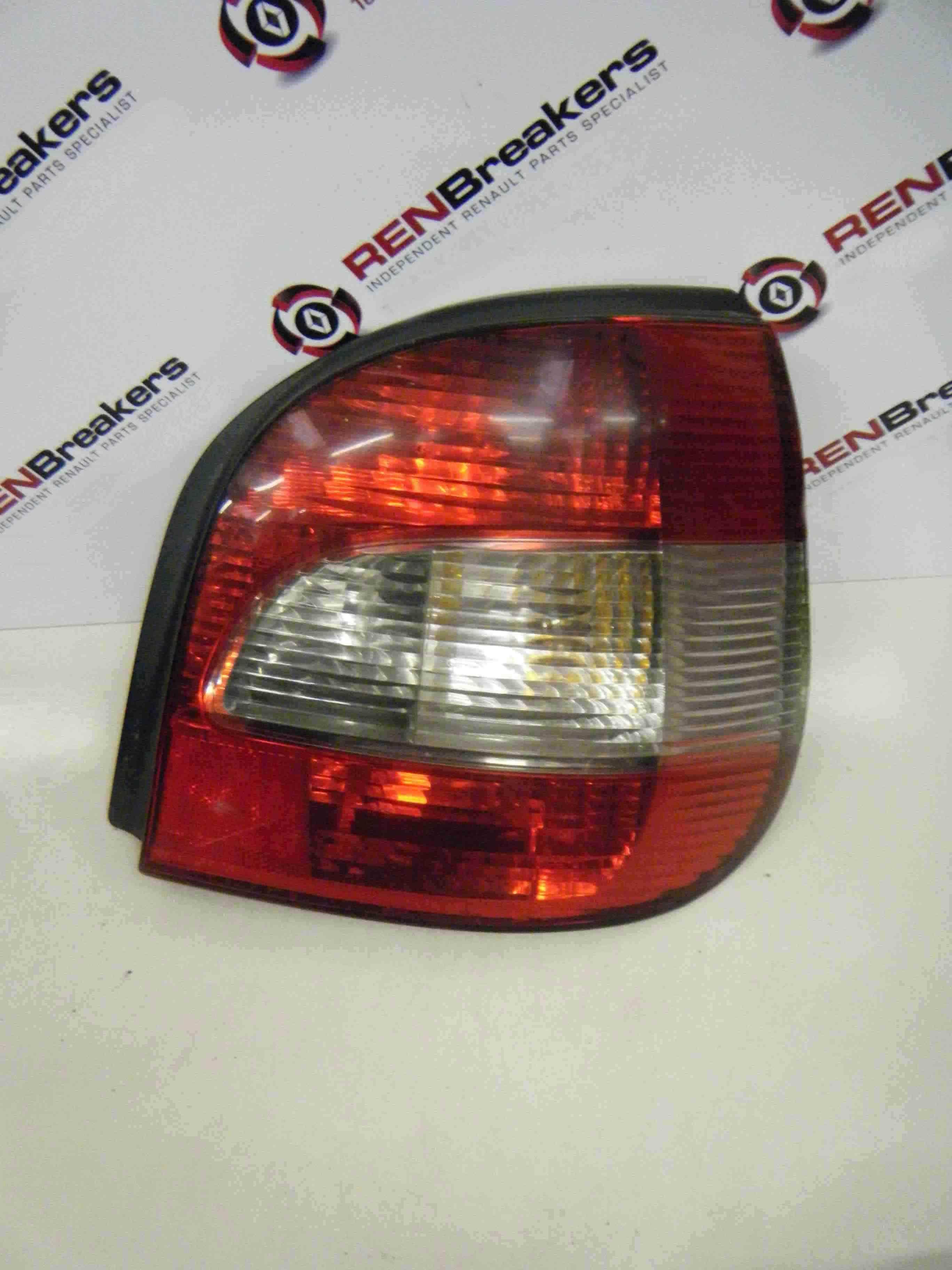 Renault Megane Scenic 1999-2003 Drivers OSR Rear Light Lenz 7700428055