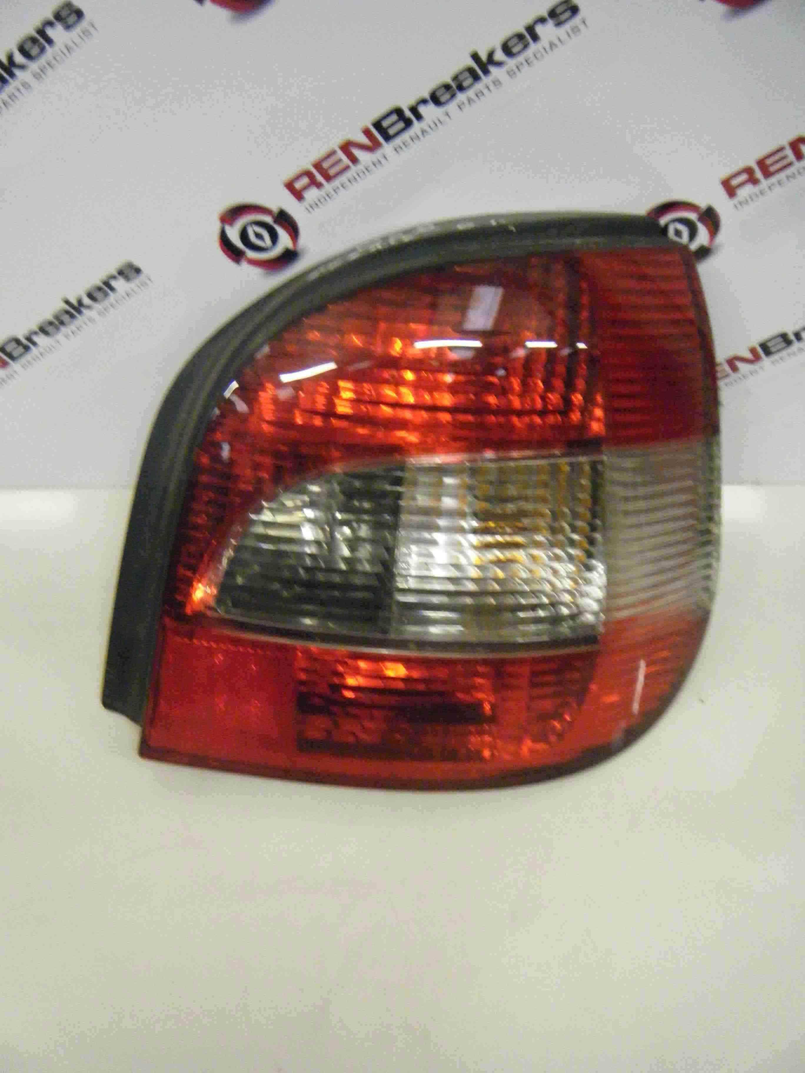 Renault Megane Scenic 1999-2003 Drivers OSR Rear Light Lenz Tail 7700428055
