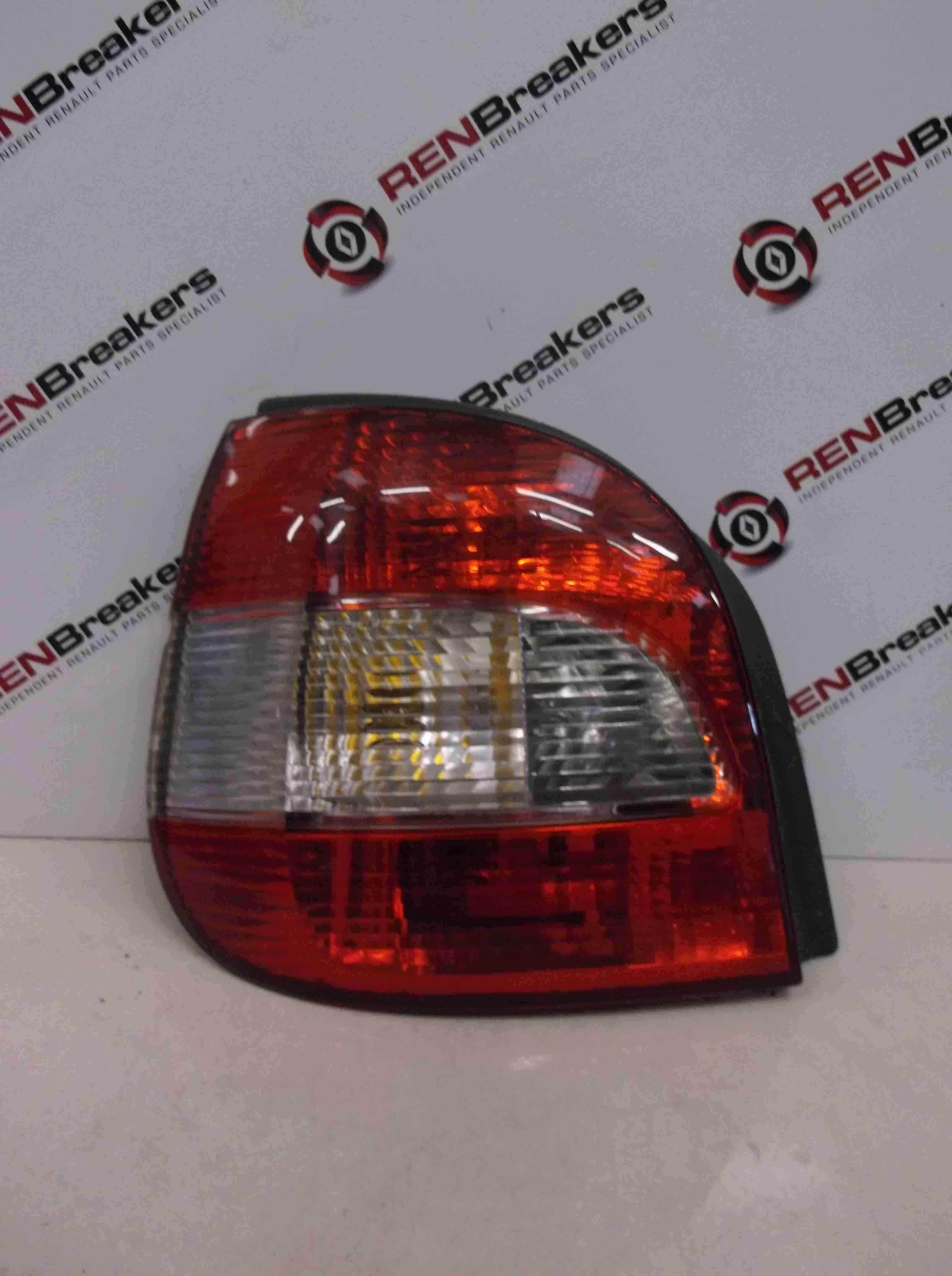 Renault Megane Scenic 1999-2003 Passenger NSR Rear Light Lenz