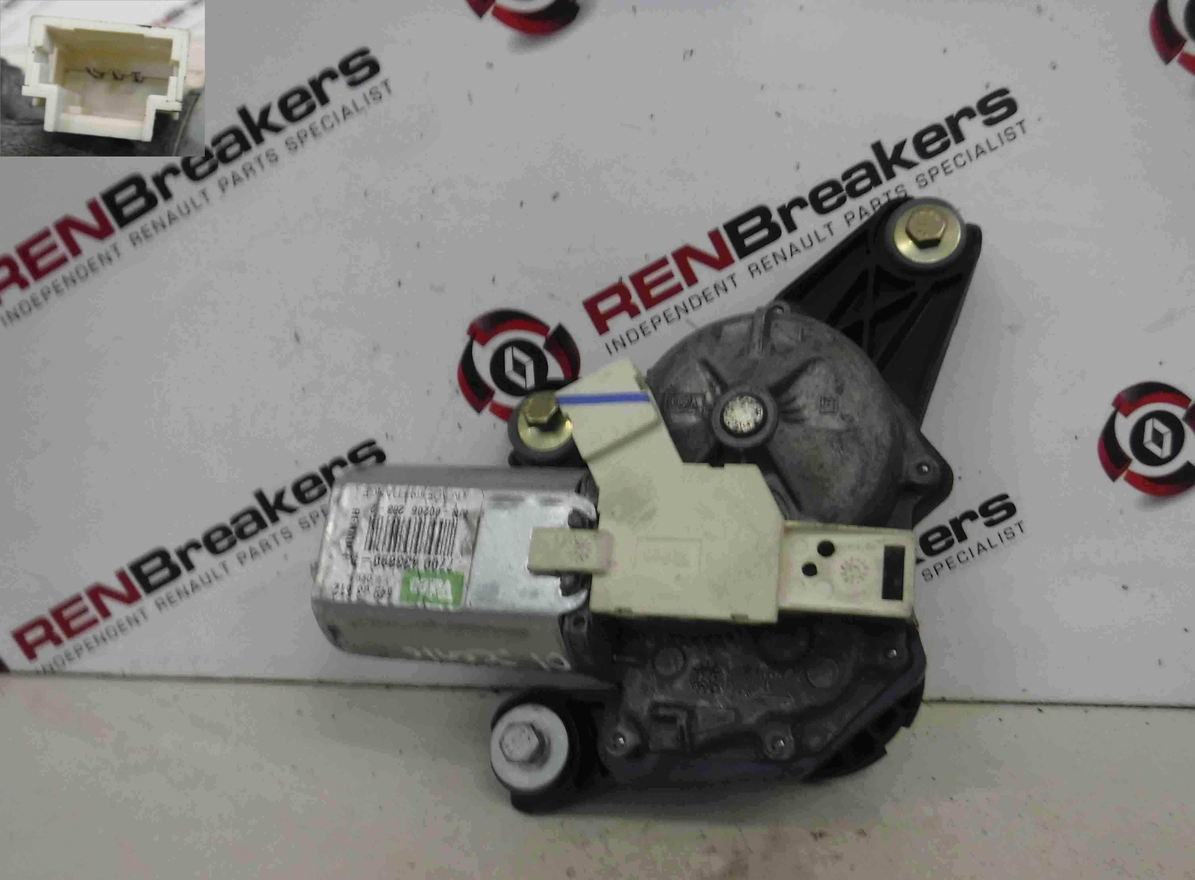 Renault Megane Scenic 1999-2003 Rear Windscreen Wiper Motor 7700433890