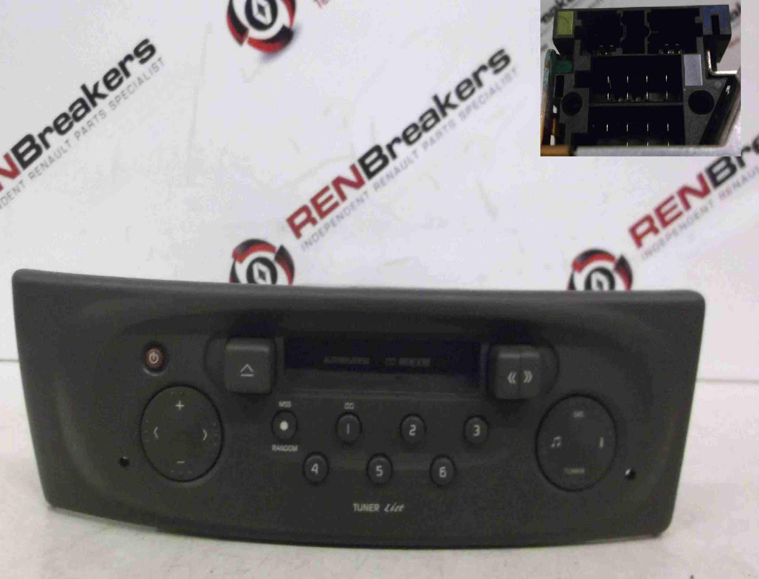 Renault Megane Scenic 1999-2003 Tape Casette Player Radio + Code 7700434422