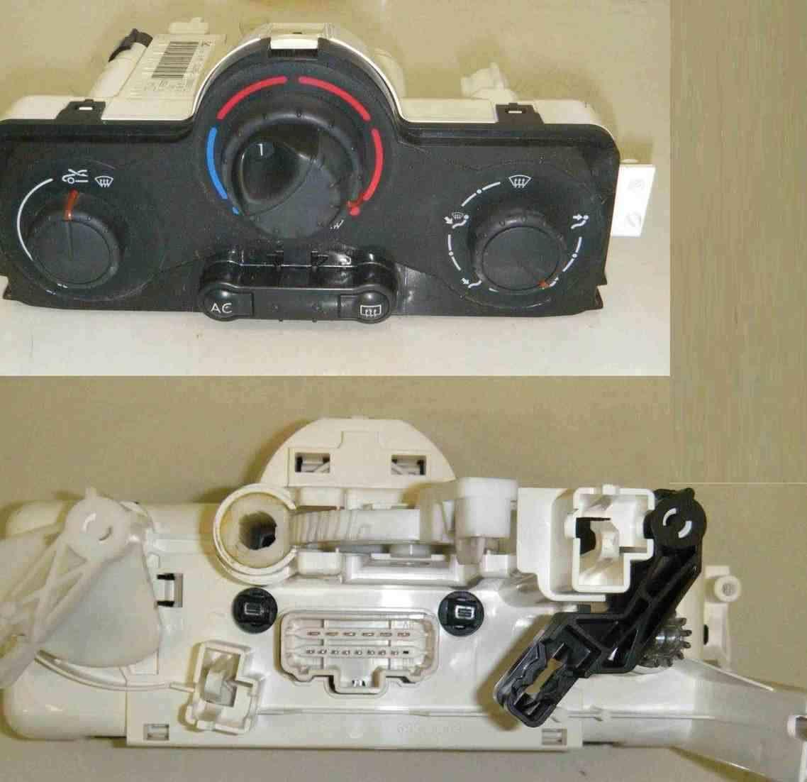 Renault Megane Scenic 2003-2009 Heater Controls Unit AC Aircon Dials 69580001