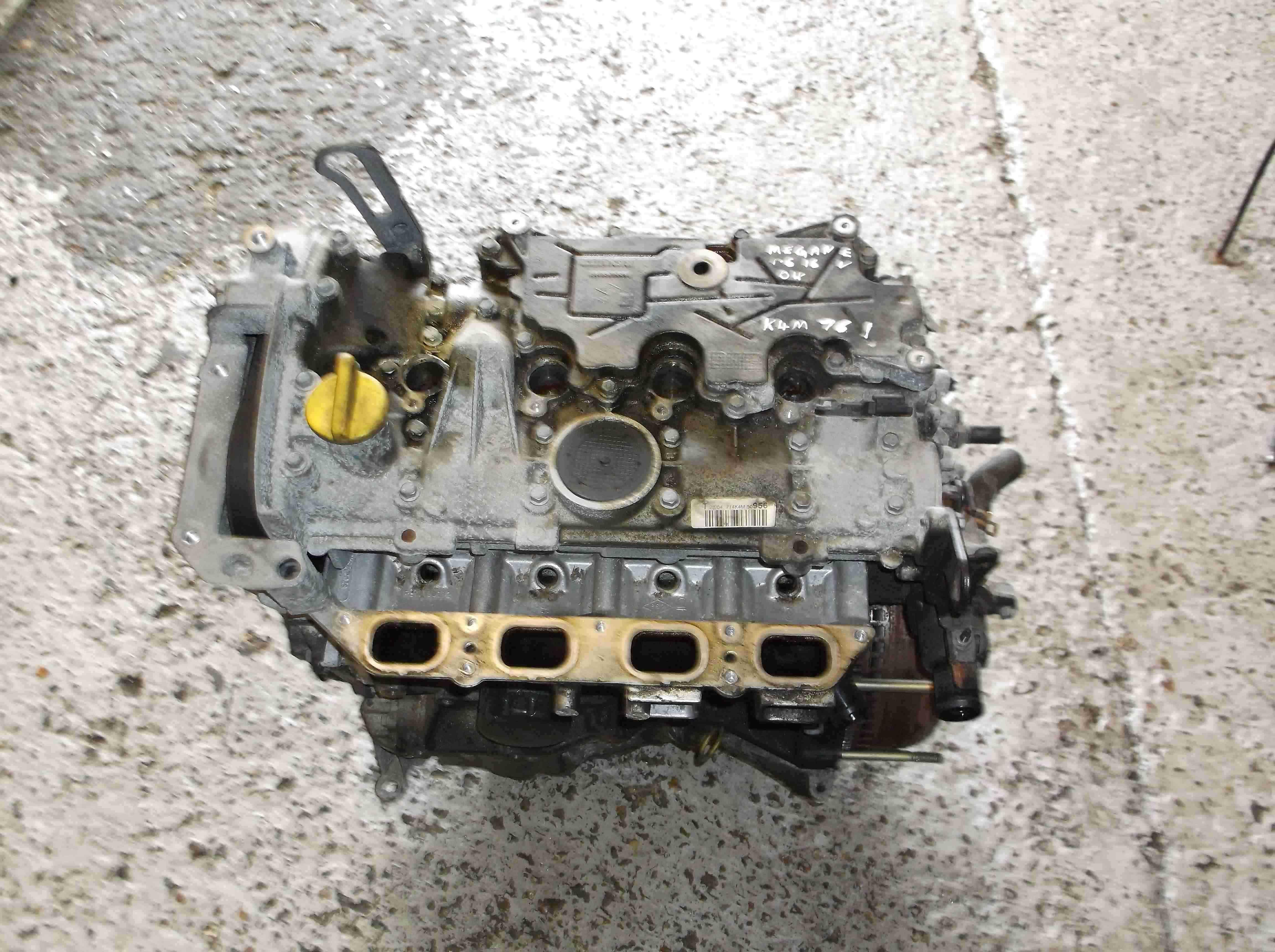 Renault Megane Scenic 2003-2009 1.6 16v Engine K4M 761 Automatic K4M761