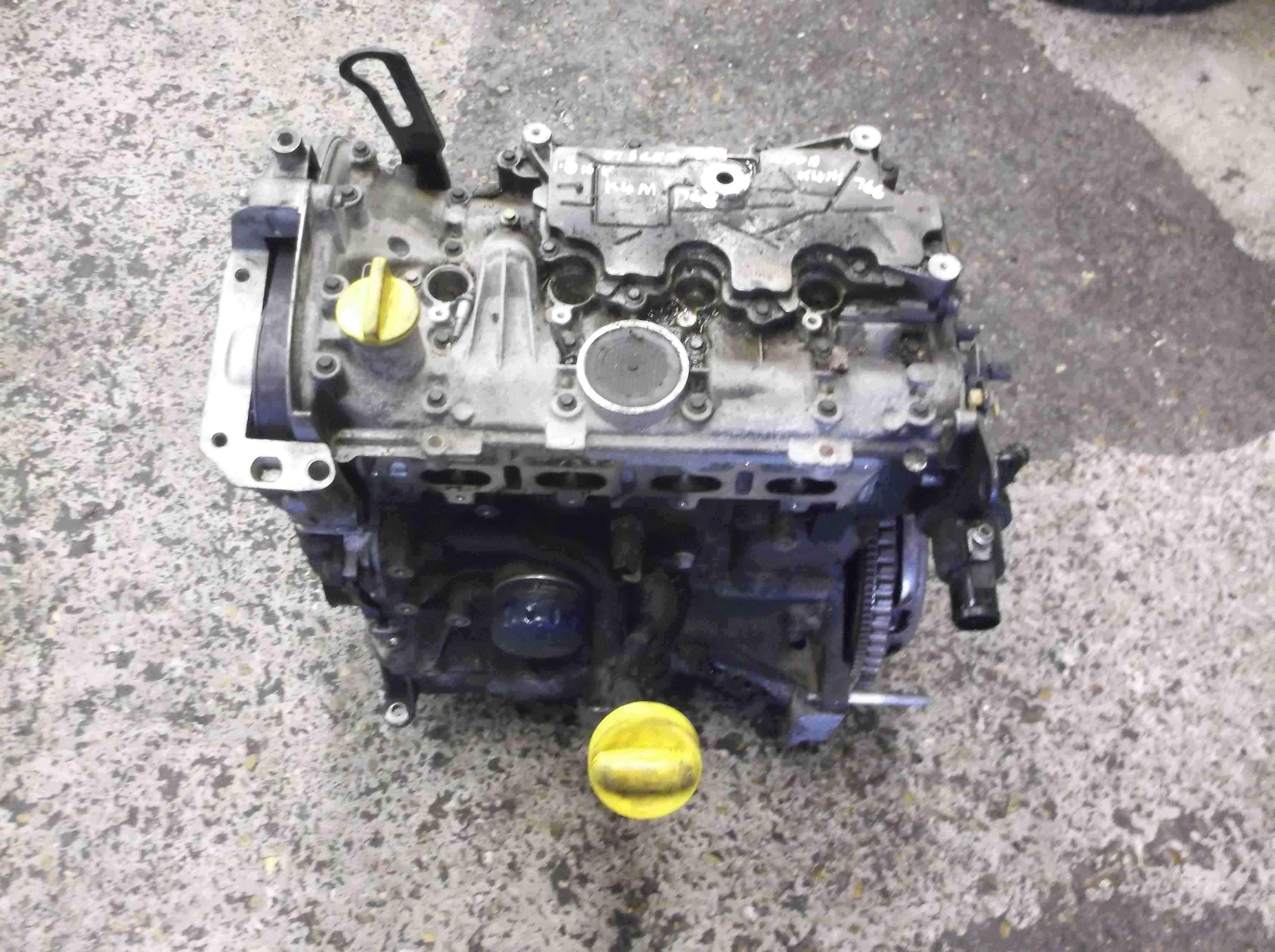 Renault Megane Scenic 2003-2009 1.6 16v Engine K4M 766 80k k4m766