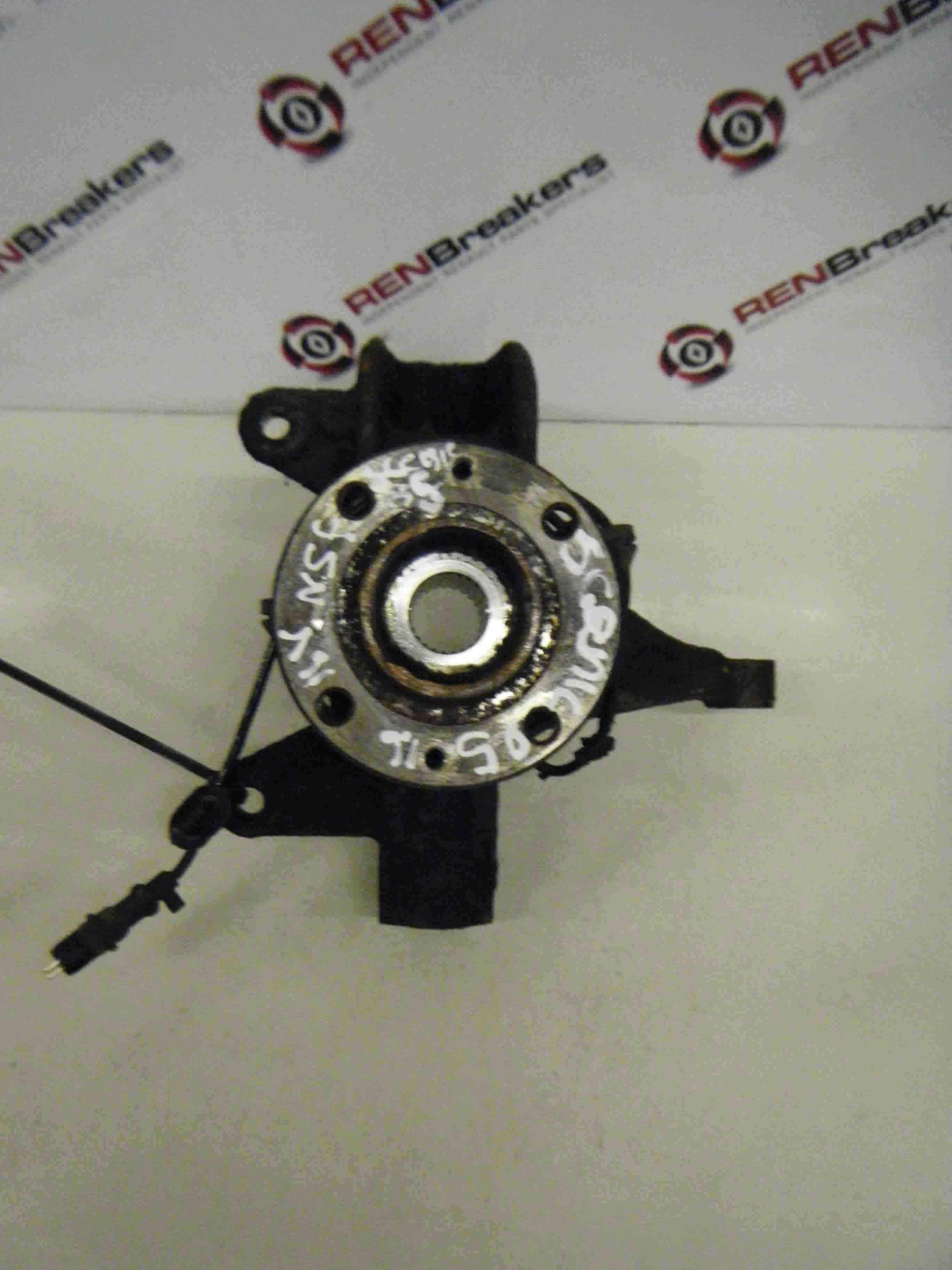 Renault Megane Scenic 2003-2009 1.6 16v Passenger NSF Front Wheel Hub + ABS