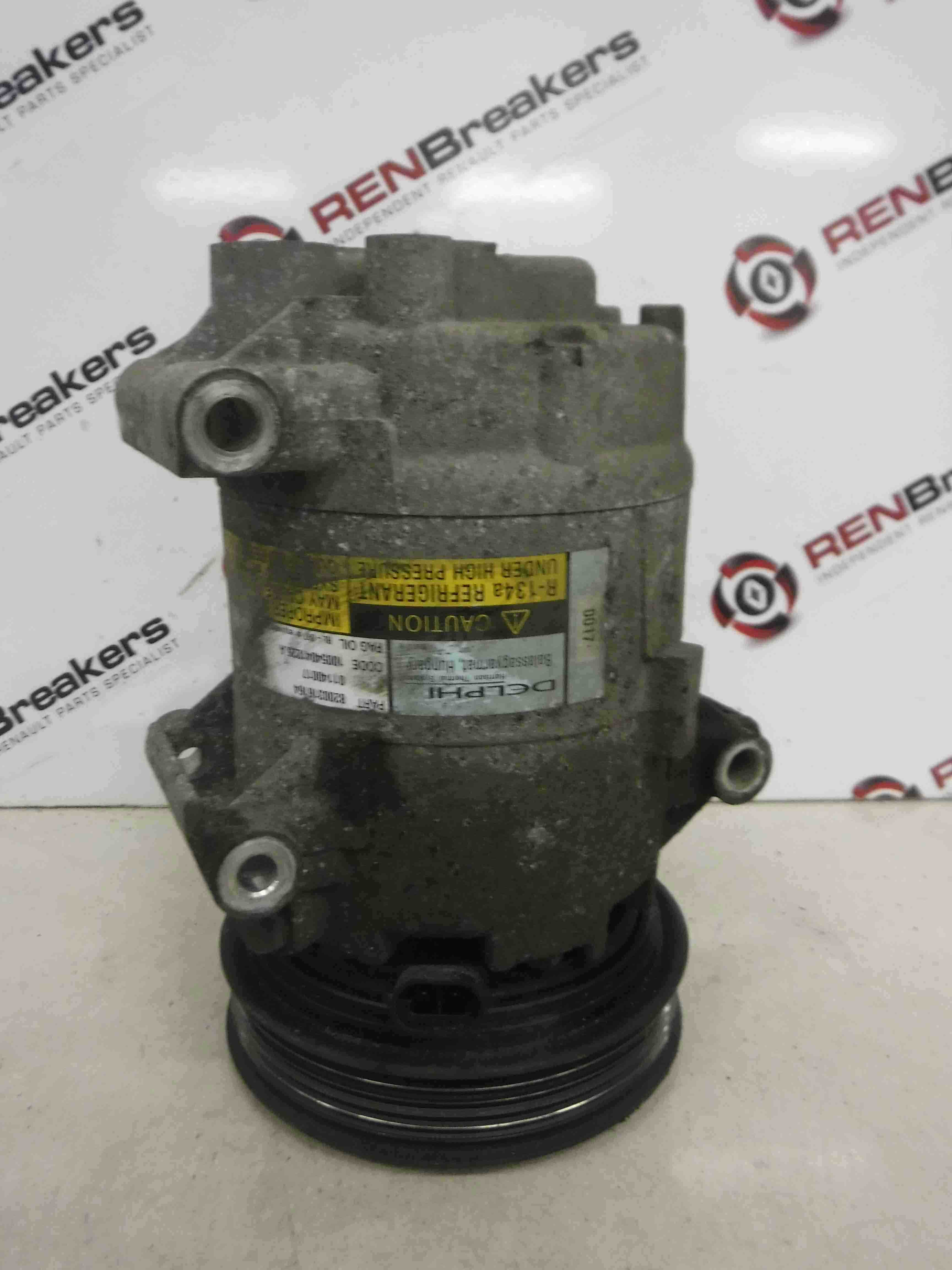 Renault Megane + Scenic 2003-2009 1.6 16v Aircon Pump Compressor Unit 8200600110