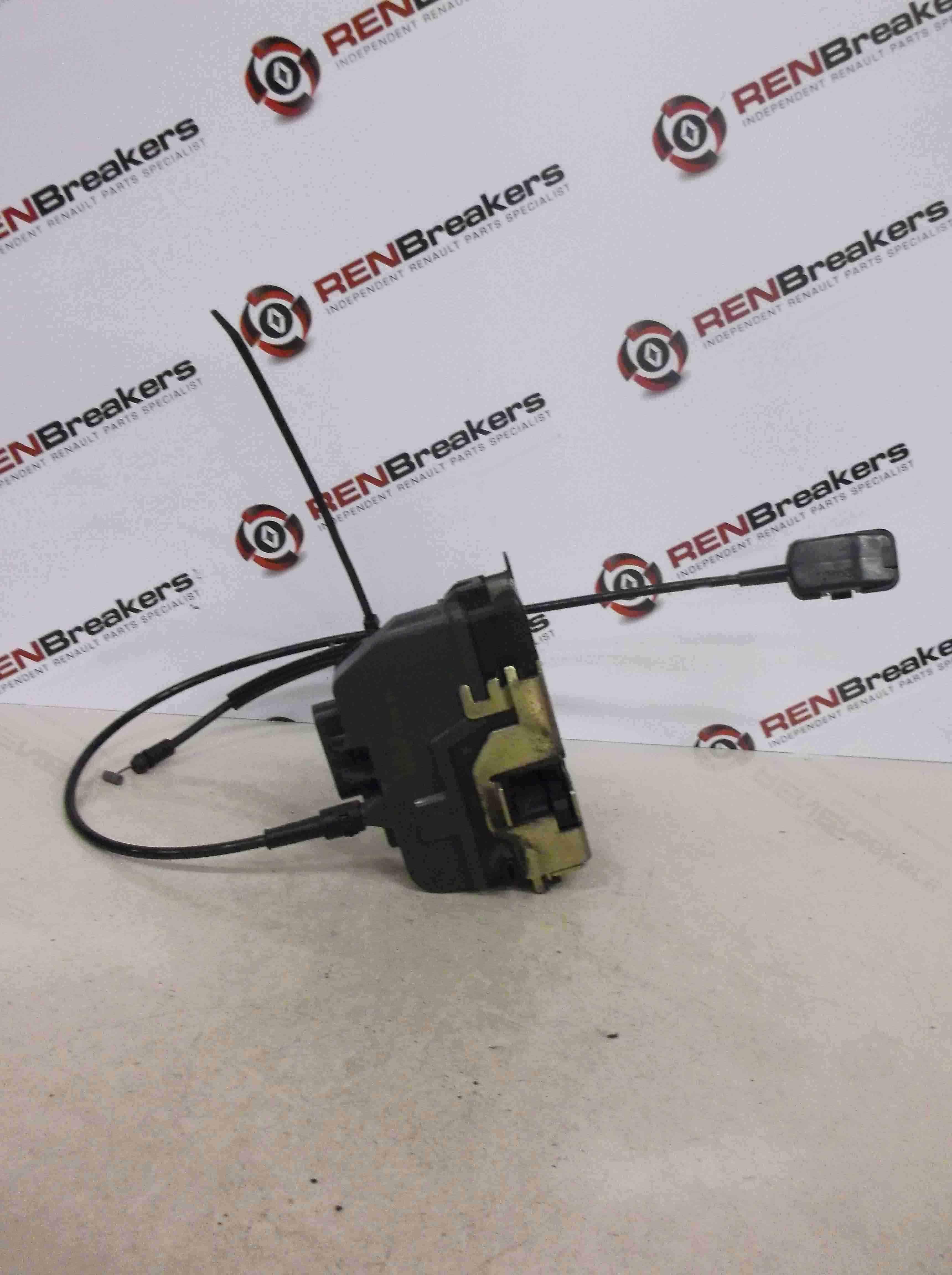 Renault Megane Scenic 2003-2009 Drivers OSR Rear Door Lock Mechanism