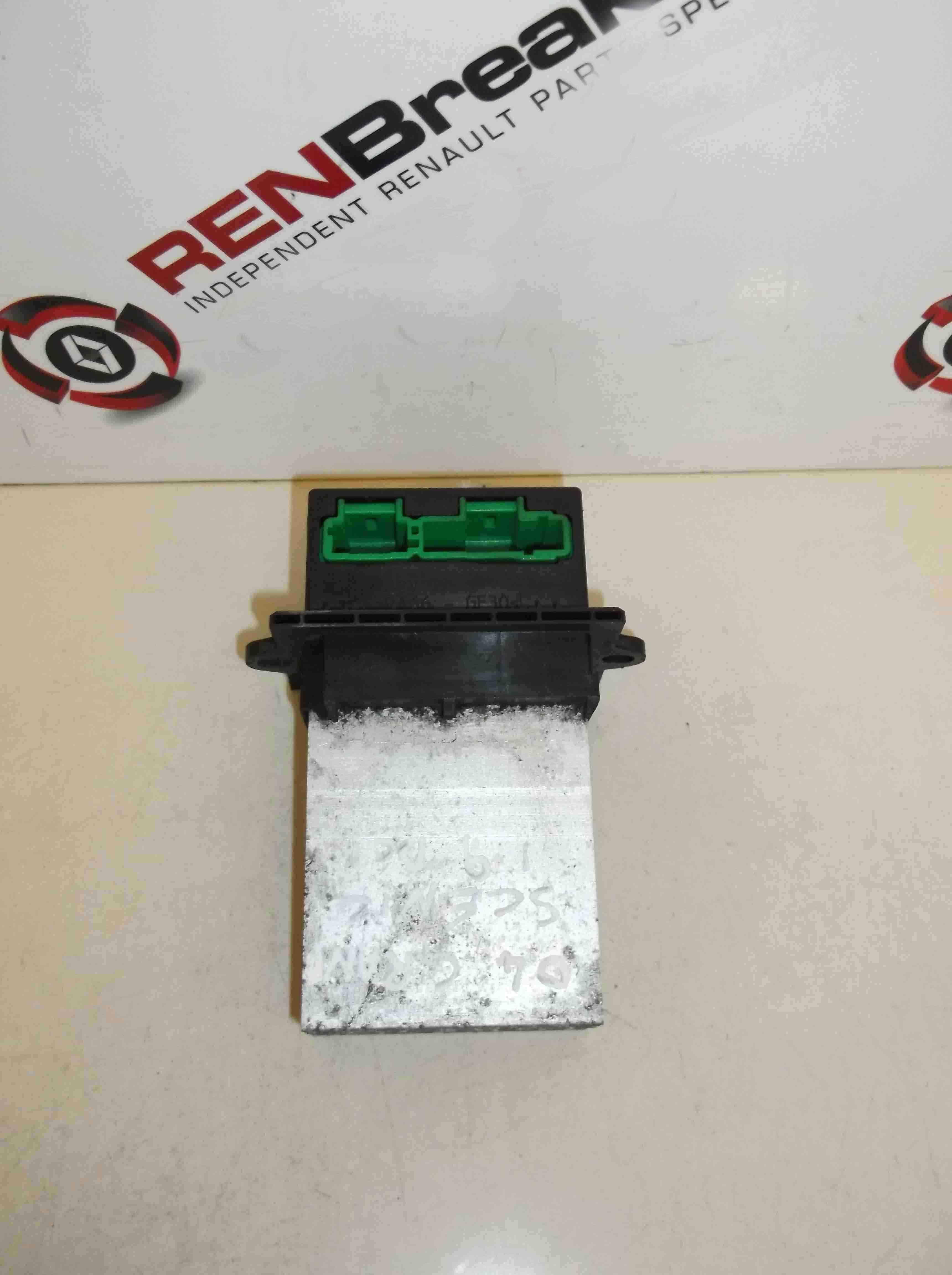 Renault Megane Scenic 2003-2009 Heater Blower Resistor