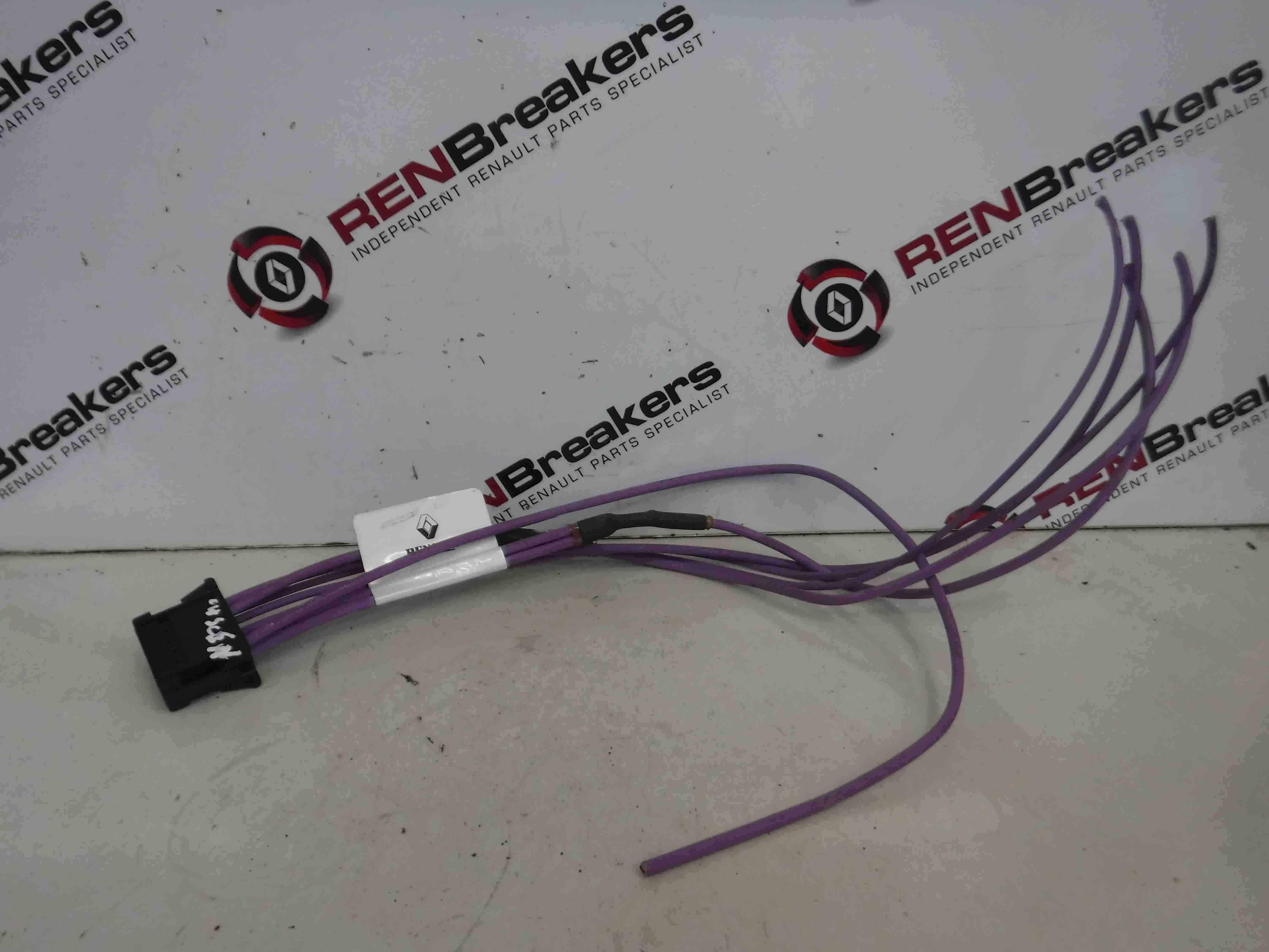 Renault Megane Scenic 2003-2009 Heater Resistor Plug Wiring Loom 8200729298