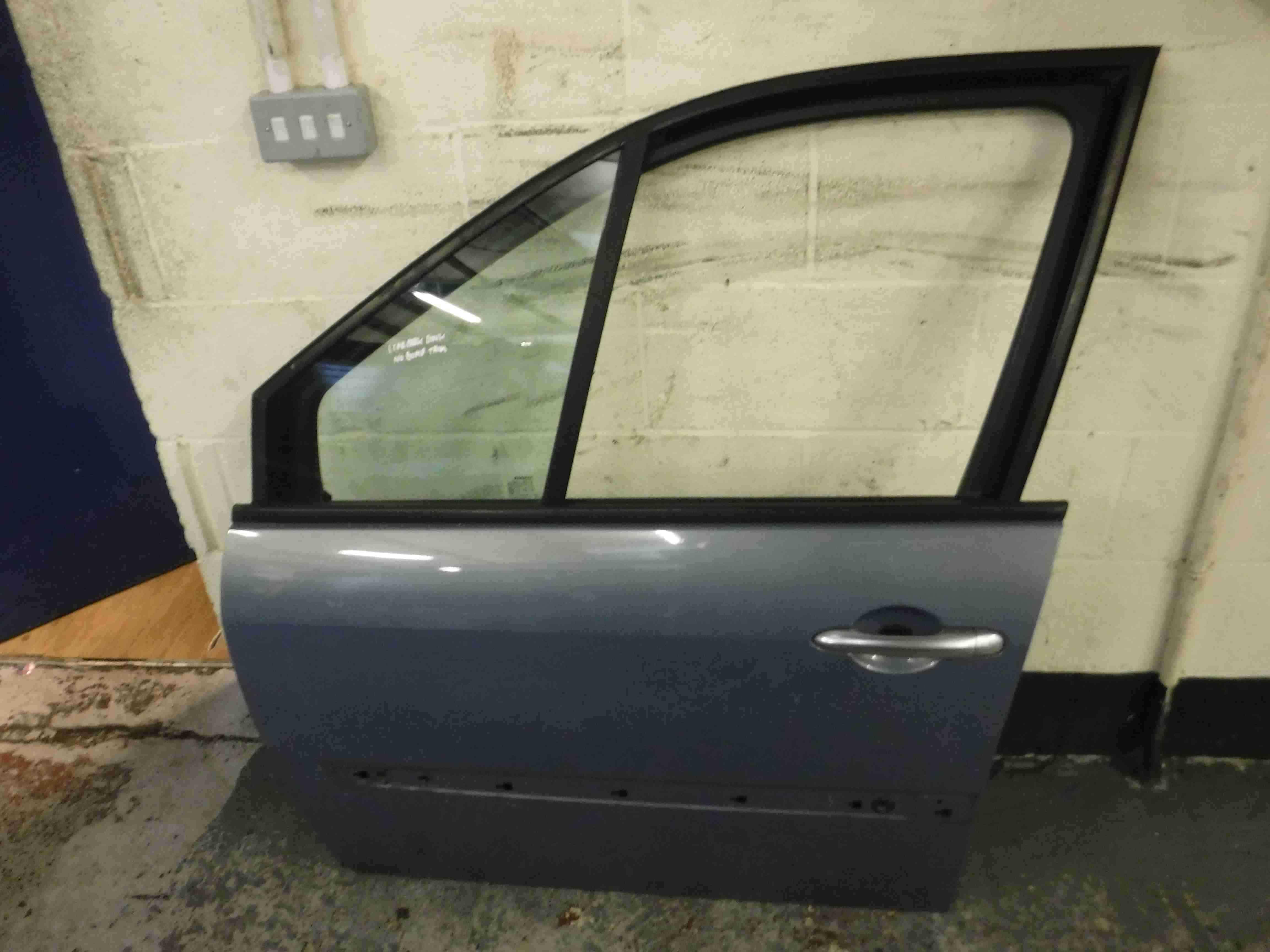Renault Megane Scenic 2003-2009 Passenger NSF Front Door Blue Purple TED47