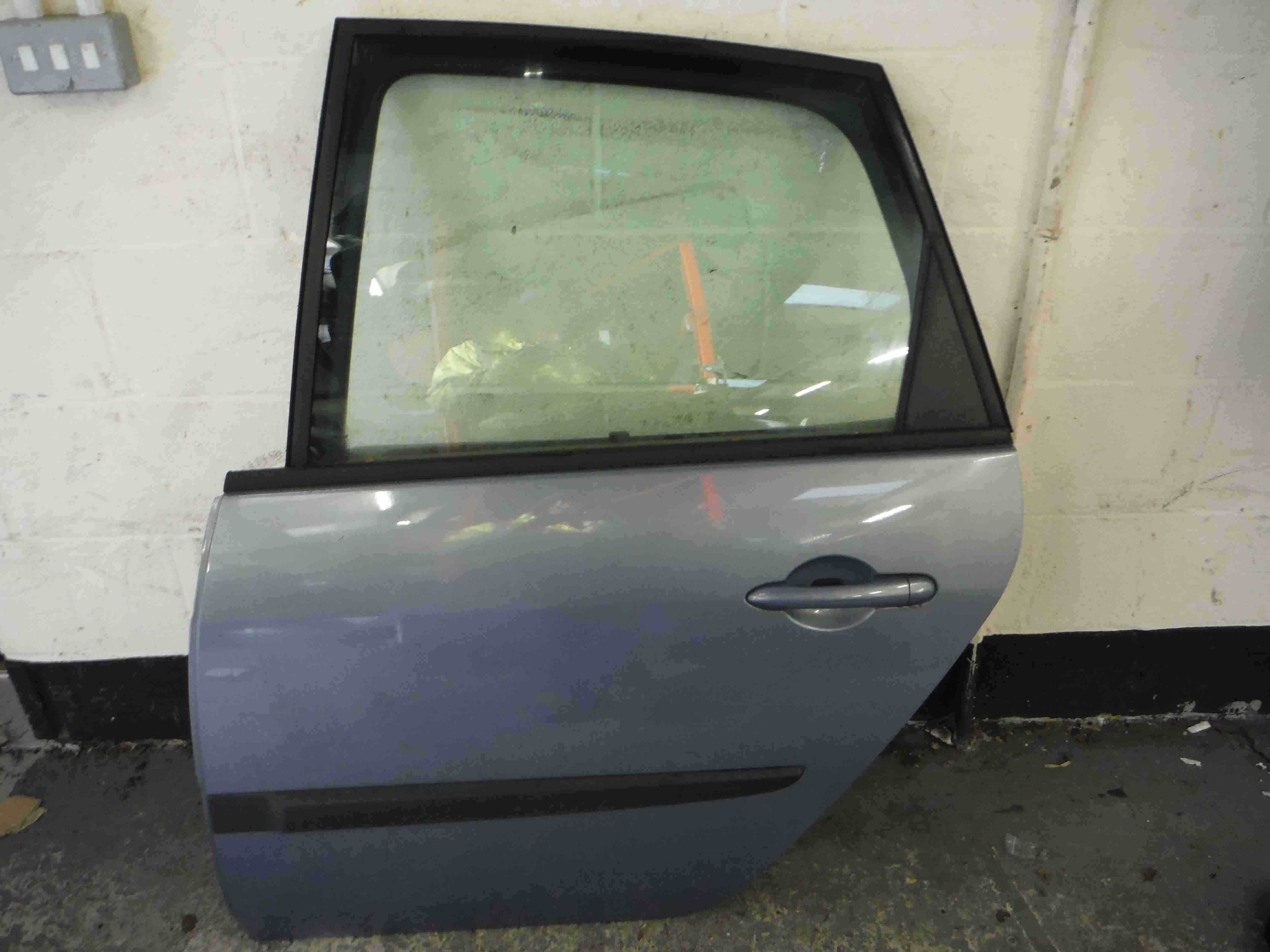 Renault Megane Scenic 2003-2009 Passenger NSR Rear Door Purple Blue TED47