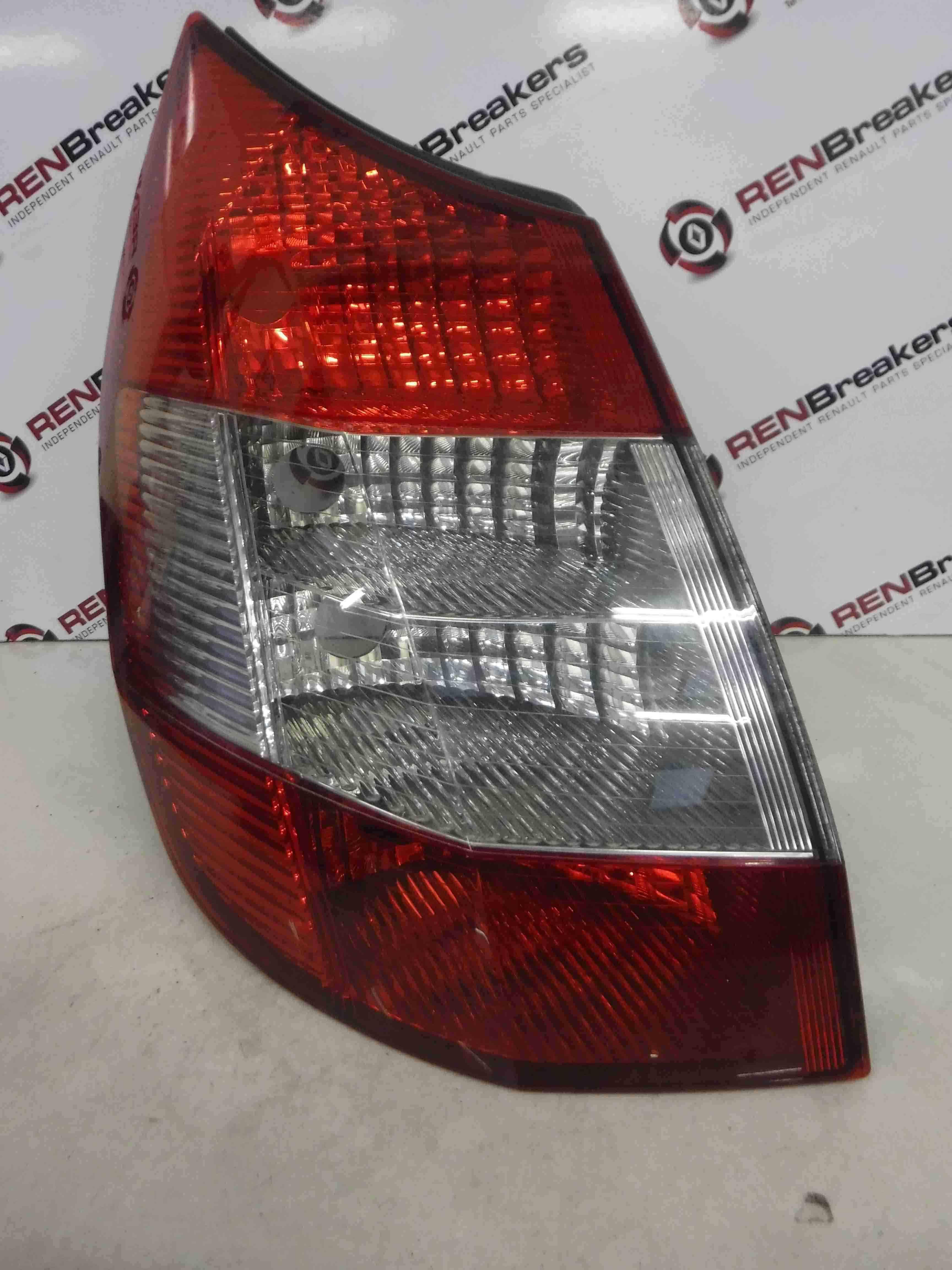 Renault Megane Scenic 2003-2009 Passenger NSR Rear Light Clear Lense 8200493374