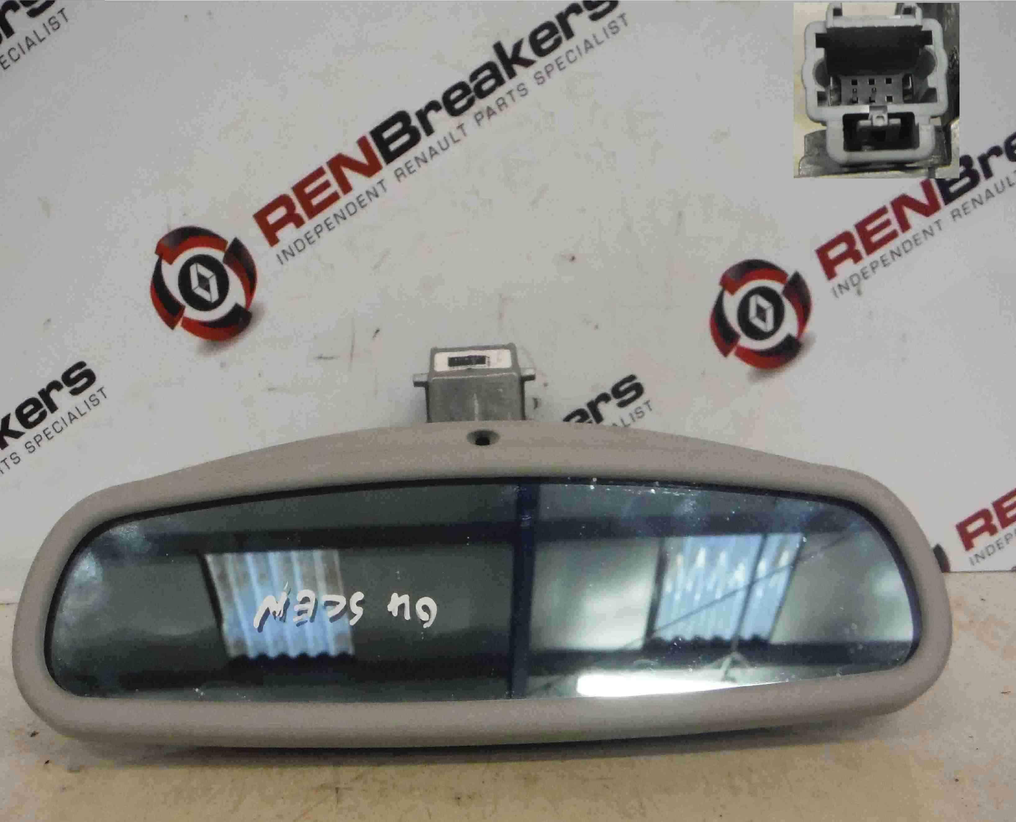 Renault Megane Scenic 2003-2009 Rear View Mirror Autodim 8200286924