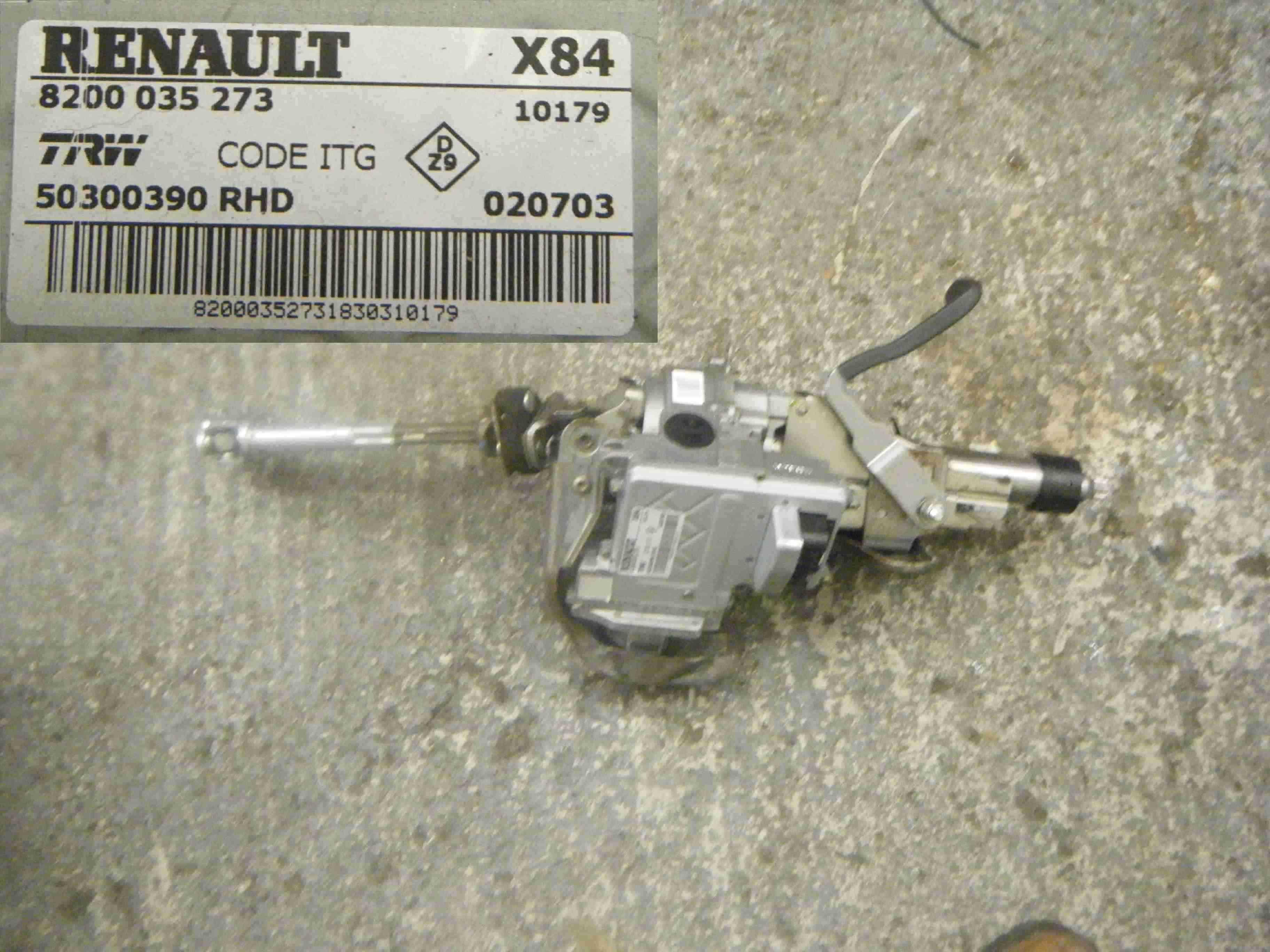 Renault Megane Scenic 2003-2009 Steering Column Electic Motor + ECU Unit