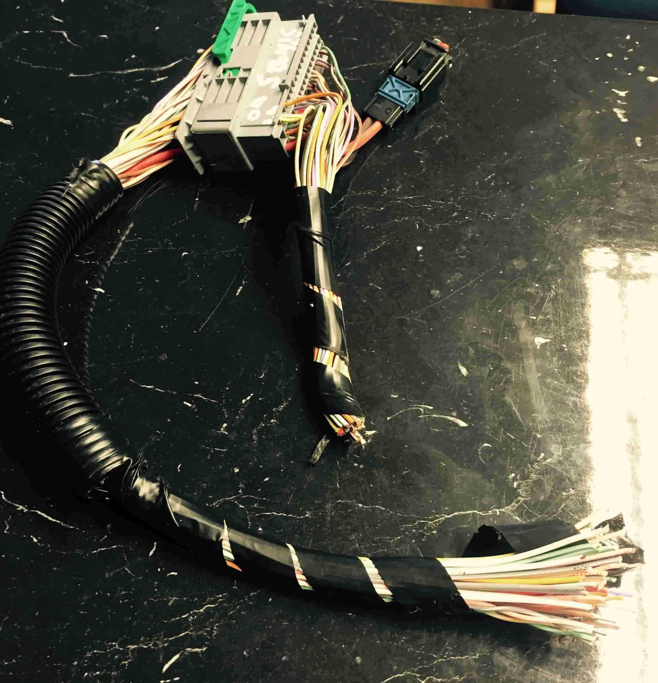 Renault Megane Scenic 2003-2009 Under Floor Seat Repair Wiring Loom Wiring