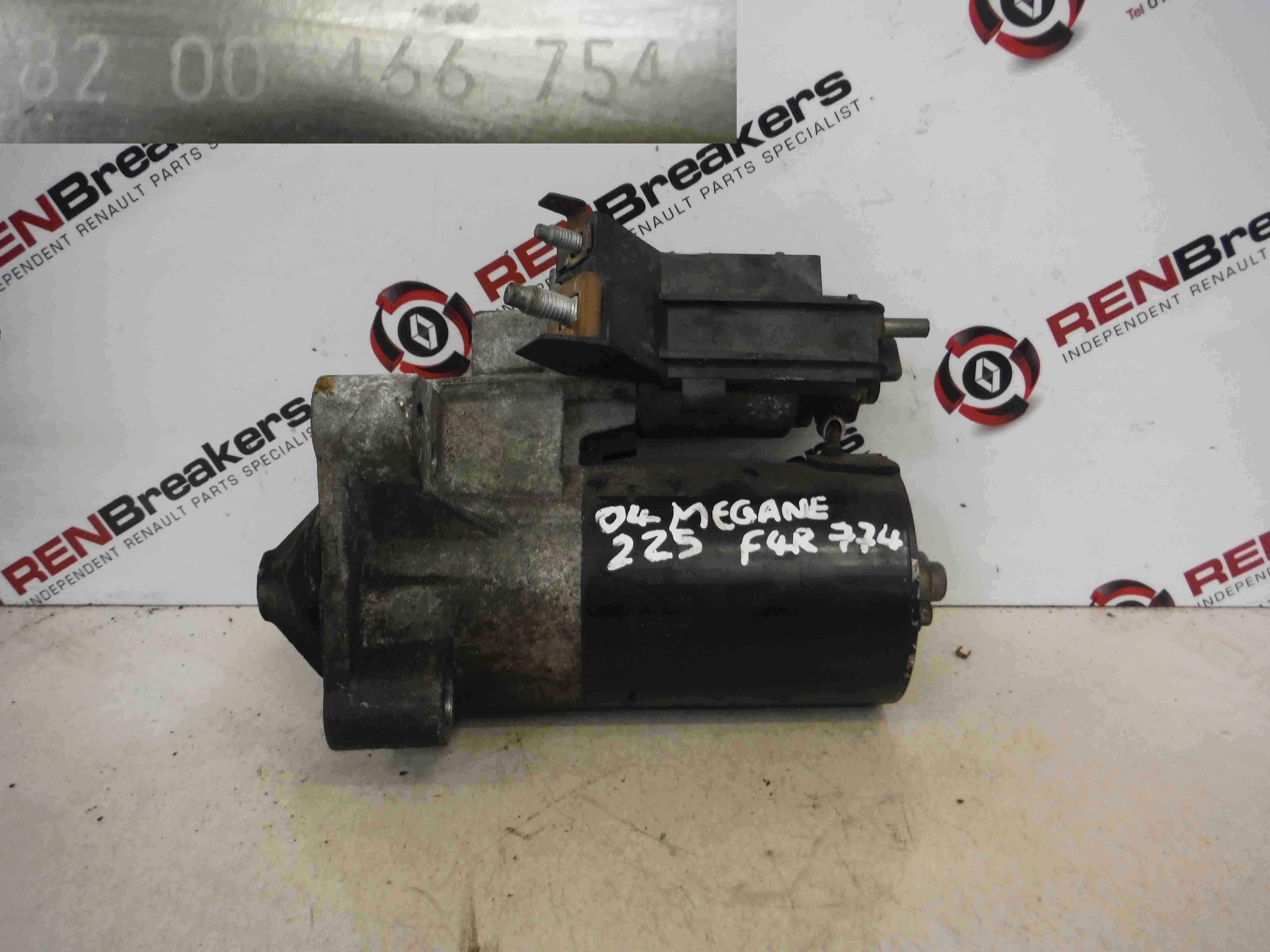 Renault Megane Sport 2002-2008 225 2.0 16v Starter Motor  F4R 774 8200466754