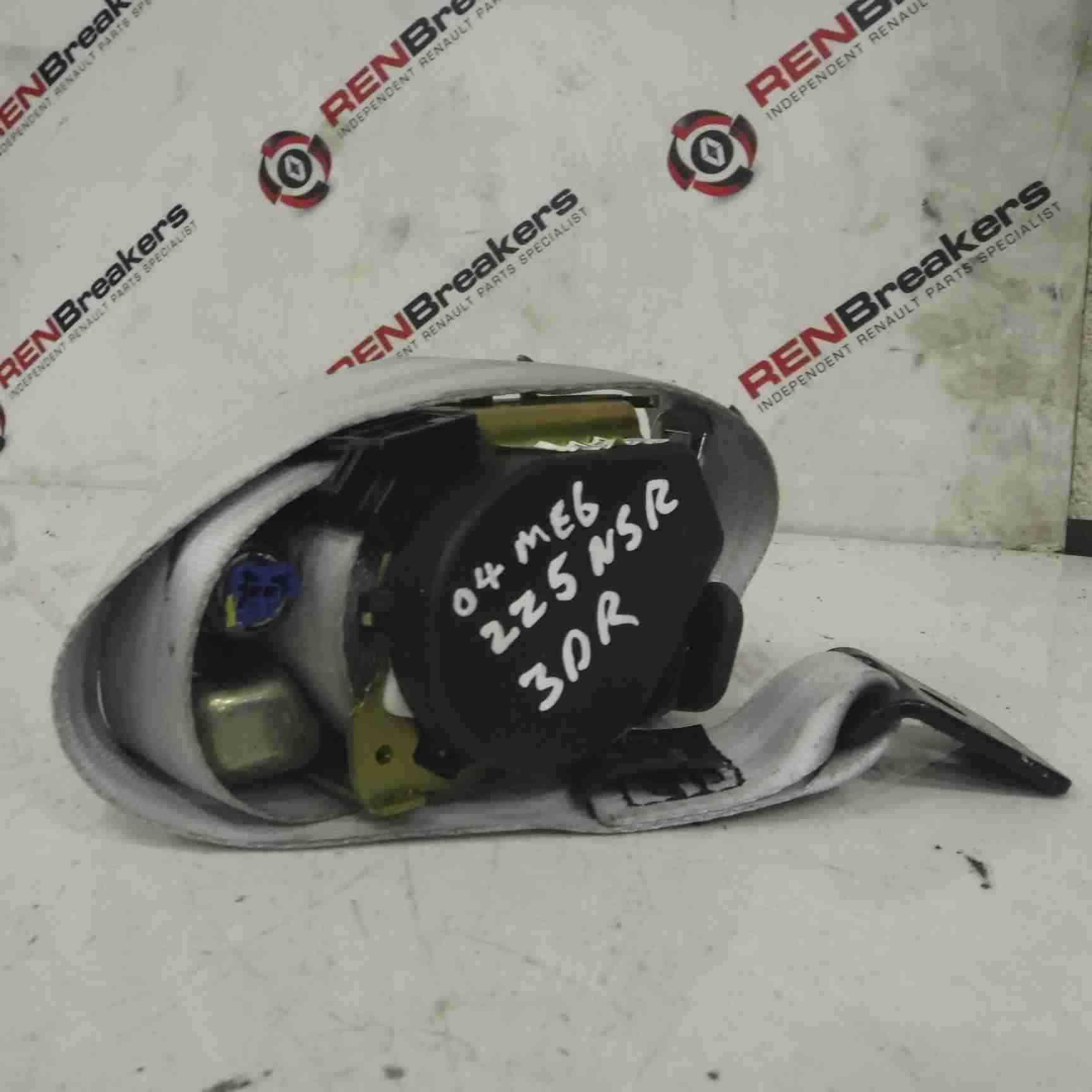 Renault Megane Sport 2002-2008 225 Passenger NSR Rear Seat Belt Pre Tensioner