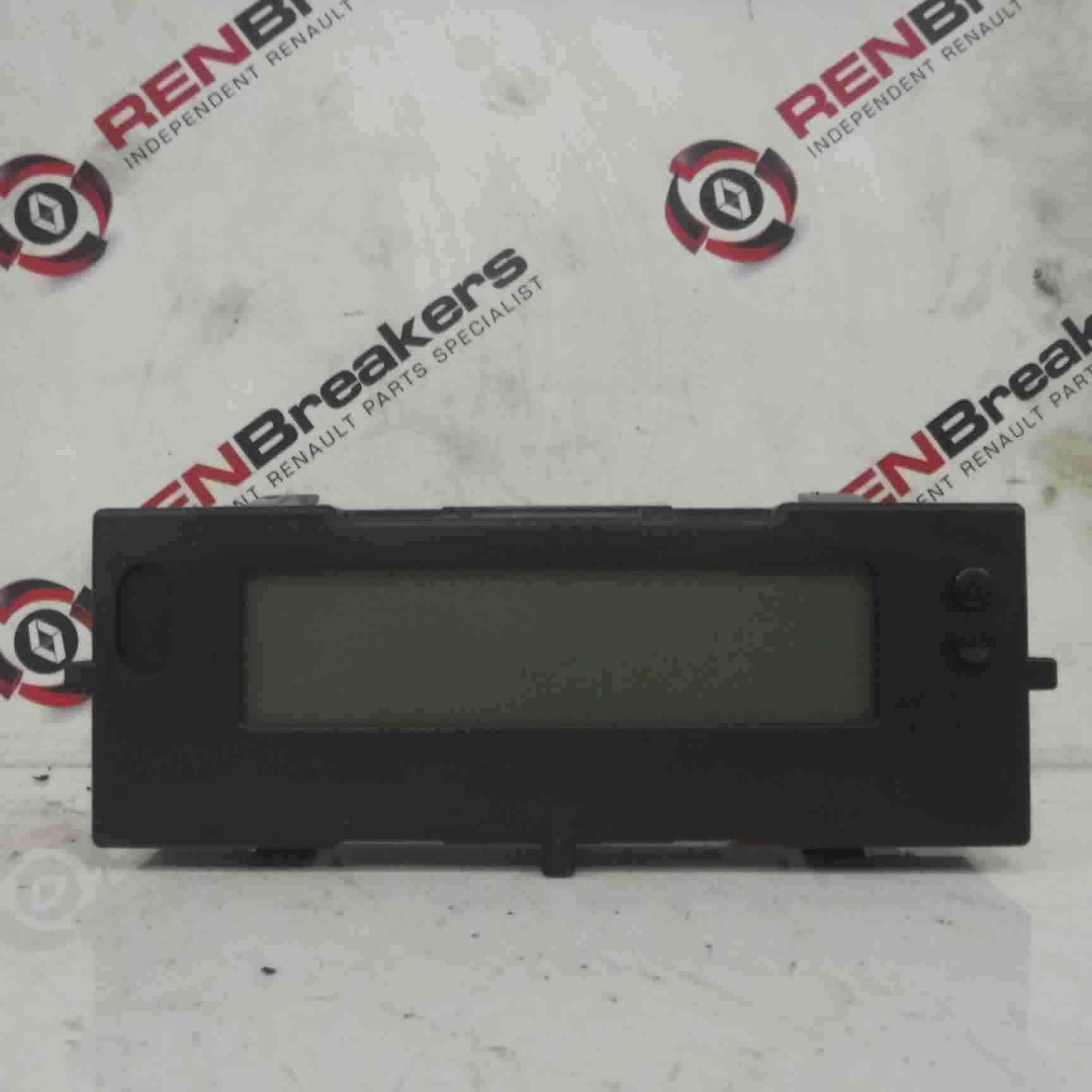 Renault Megane Sport 2002-2008 225 Radio Cd Player Display Centre Clock