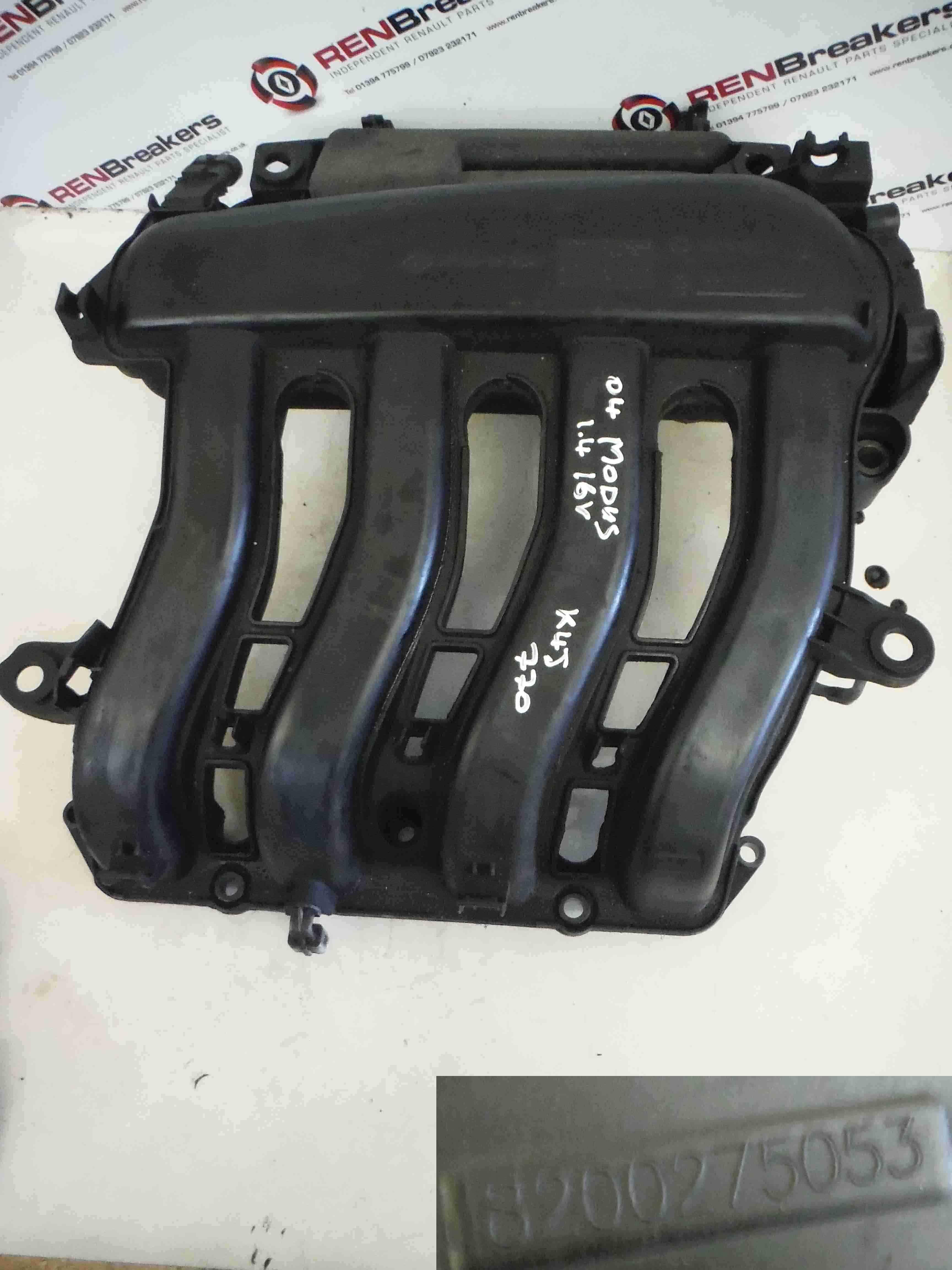 Renault Modus 2004-2008 1.4 16v Inlet Manifold Intake Mani 8200275053