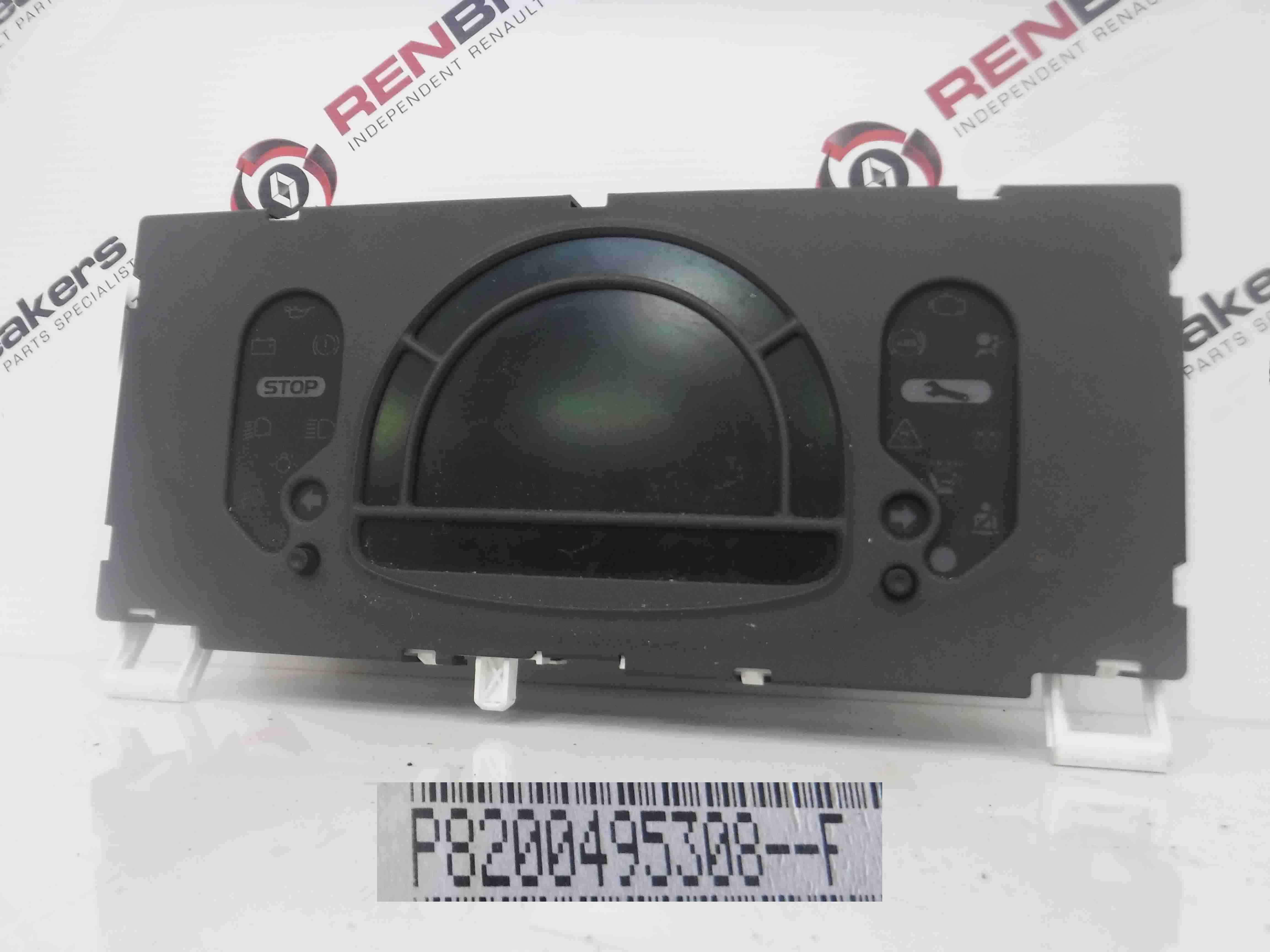 Renault Modus 2004-2008 1.5 dCi Instrument Panel Dials Gauges Clocks 8200495308