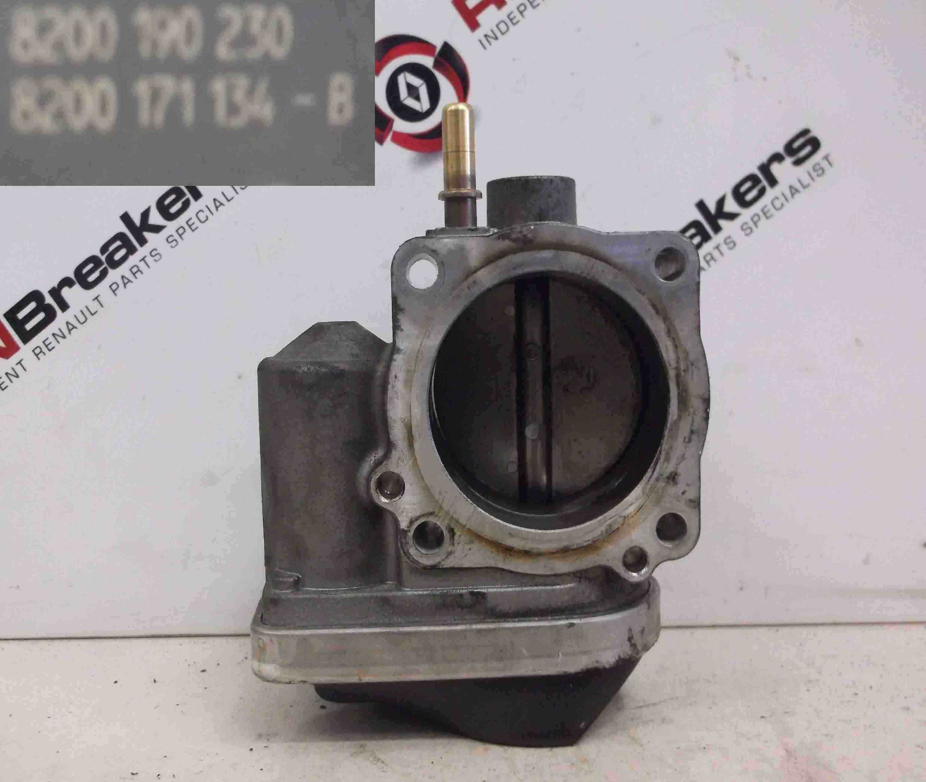 Renault Megane Scenic 2003-2009 1.6 16v Throttle Body Electronic 8200190230
