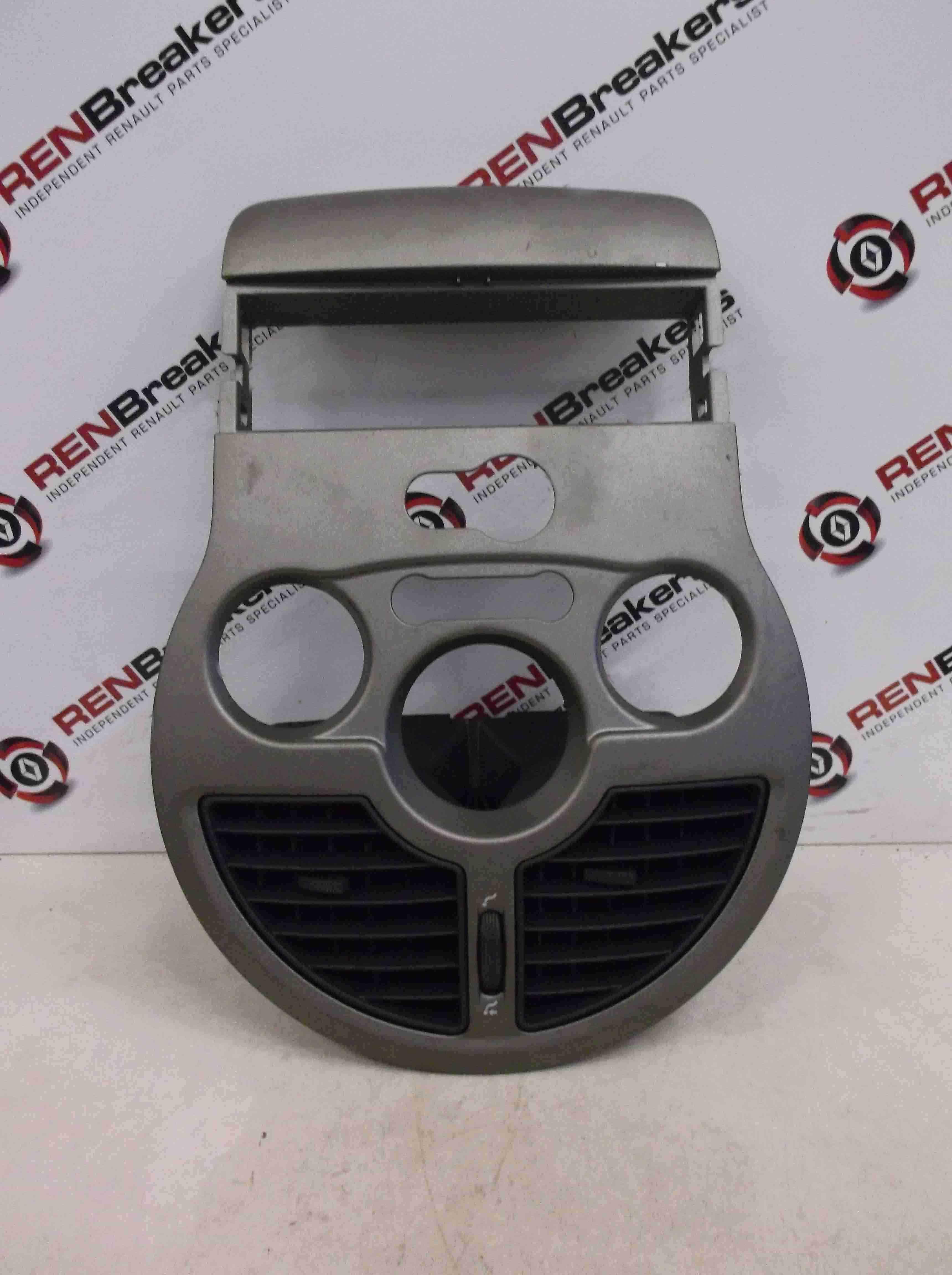 Renault Modus 2004-2008 Centre Heater Vent Trim Plastic  Console 8200630438