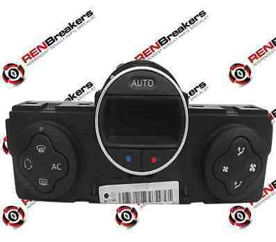 Renault Modus 2004-2008 Heater Controls Switch Panel Climate Control 8200133339
