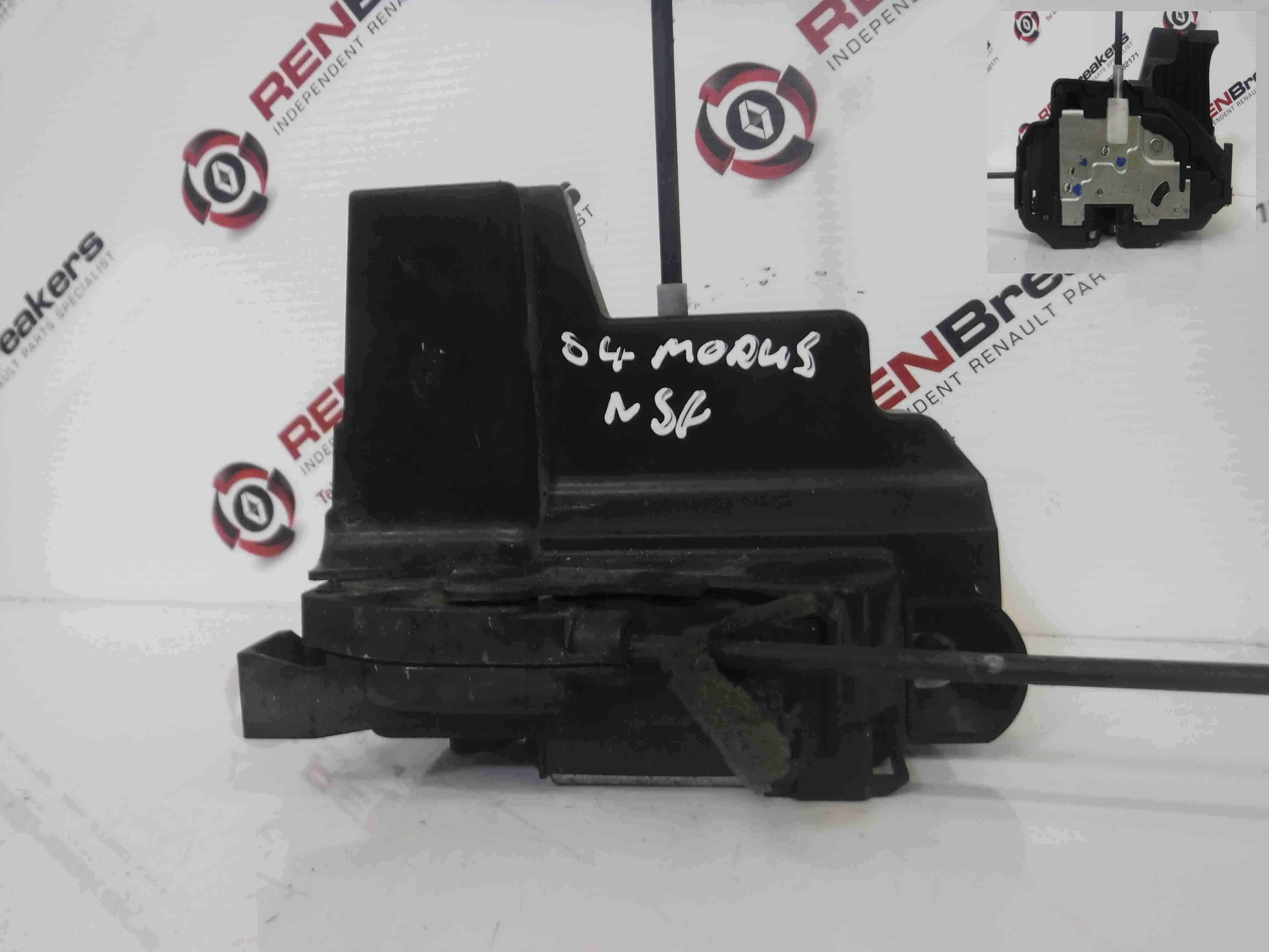 Renault Modus 2004-2008 Passenger NSF Front Door Lock Mechanism