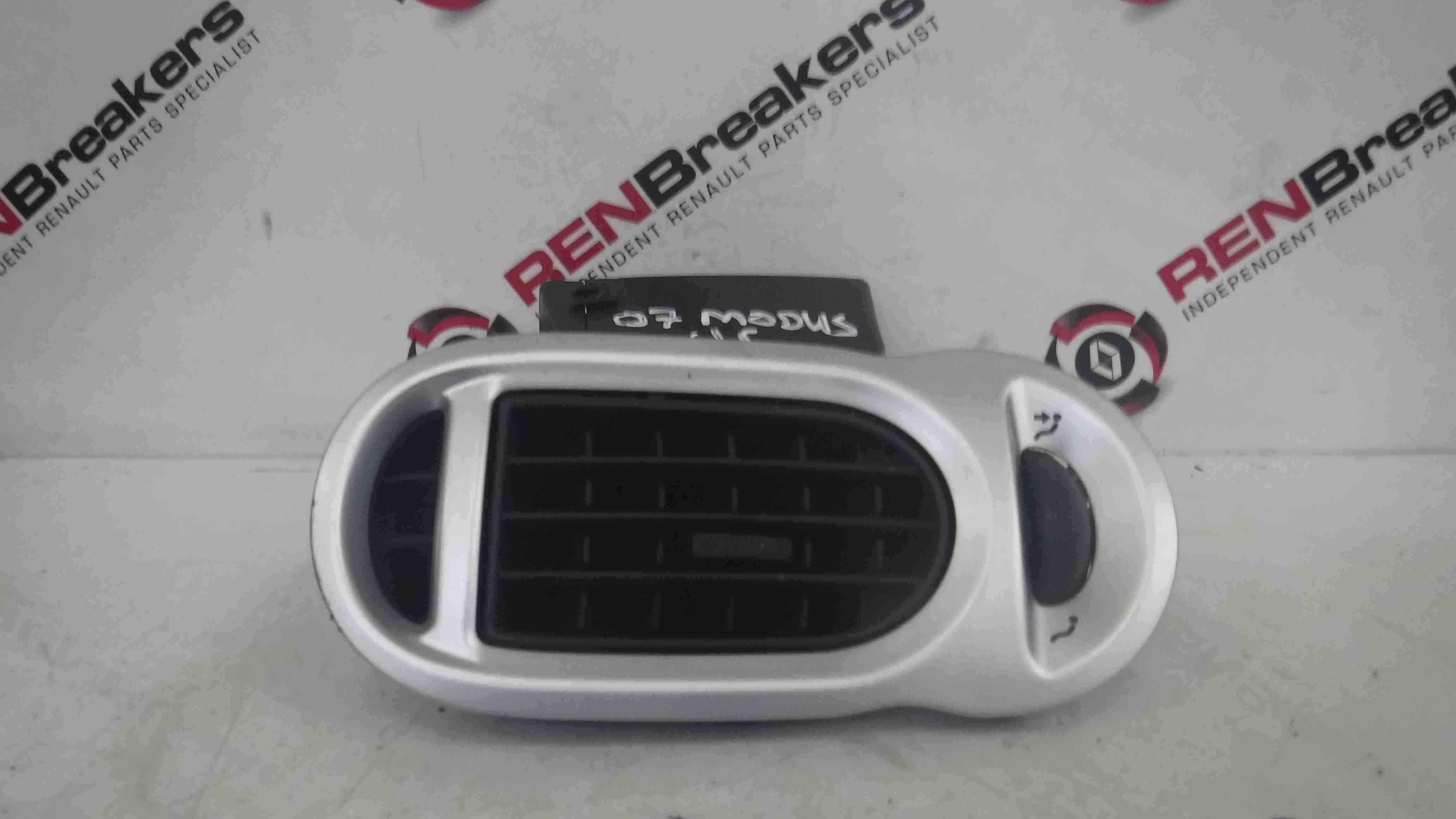 Renault Modus 2004-2008 Passenger NSF Front Heater Vent Silver
