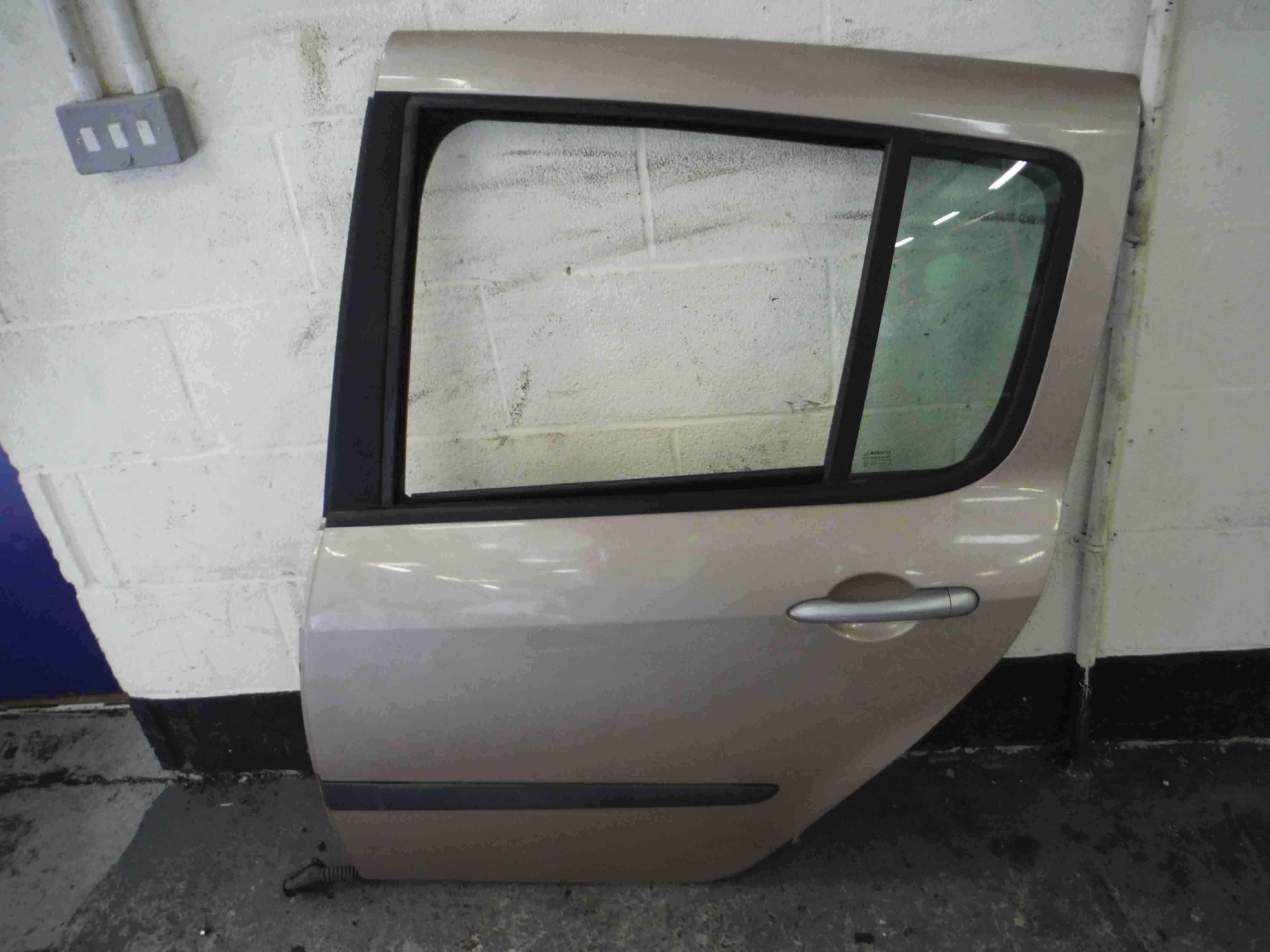 Renault Modus 2004-2008 Passenger NSR Rear Door Beige Brown Silver TED12