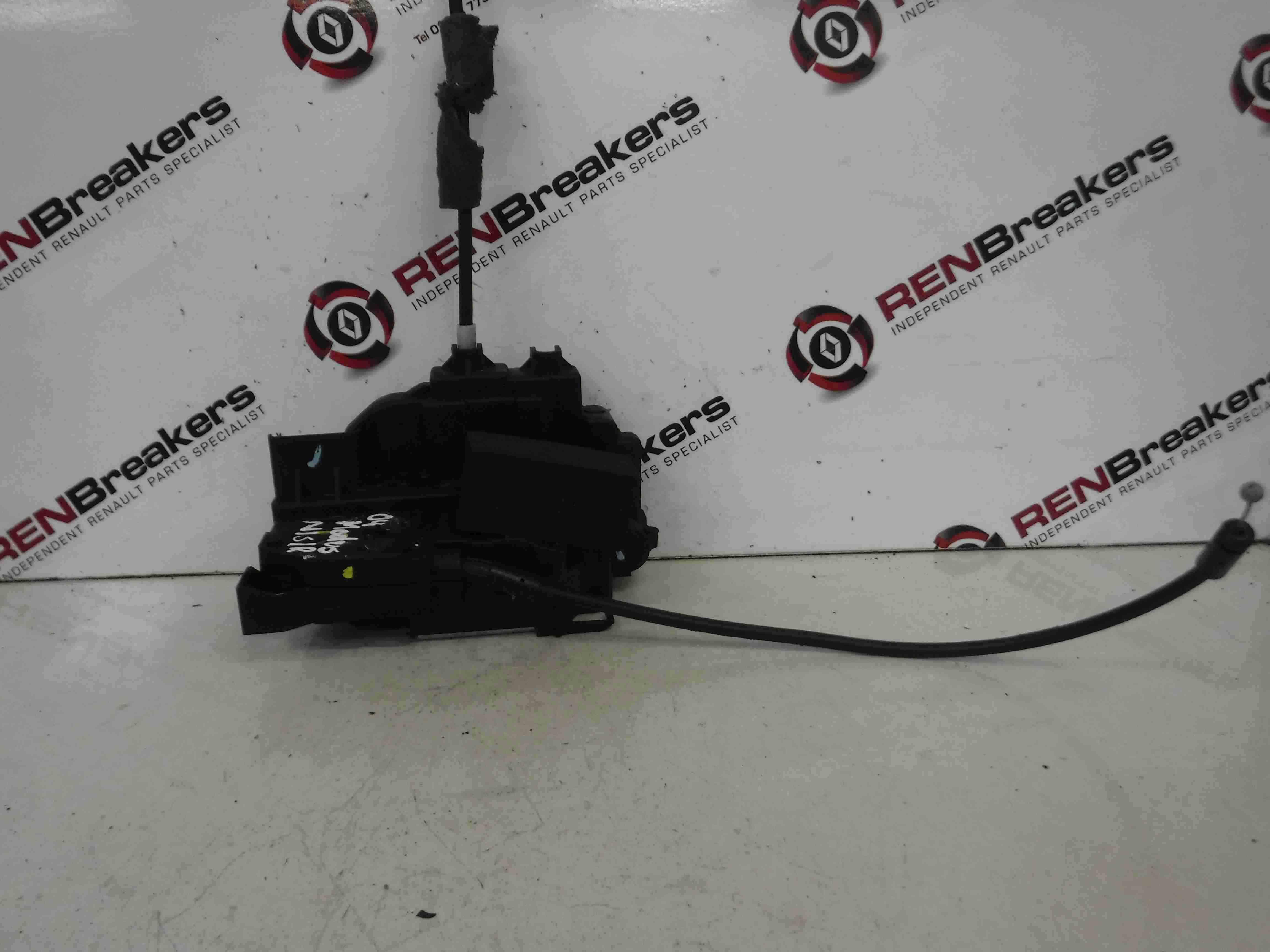Renault Modus 2004-2008 Passenger NSR Rear Door Lock Mechanism