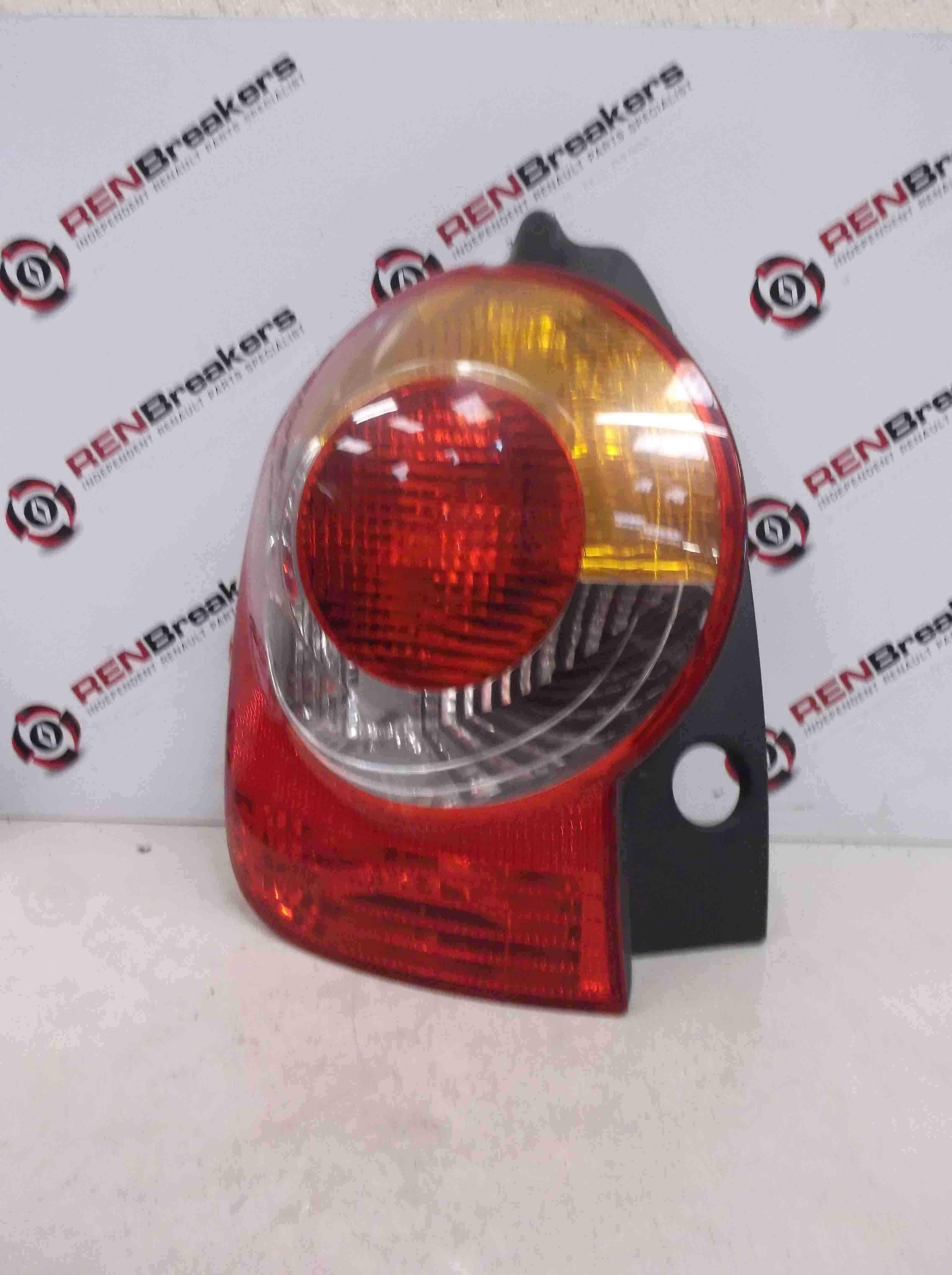 Renault Modus 2004-2008 Passenger NSR Rear Light lens 8200538786 8200212205