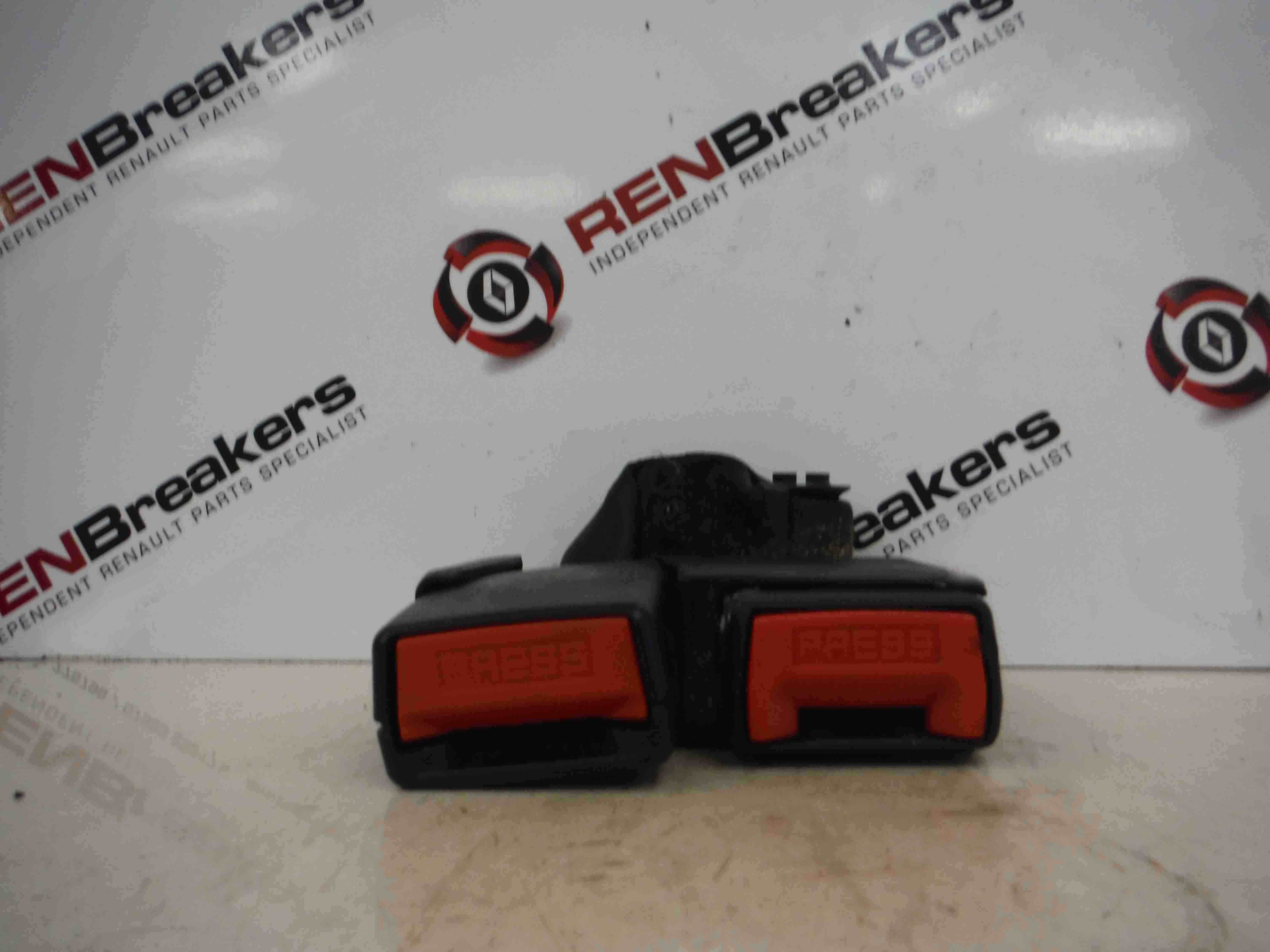 Renault Modus 2004-2008 Rear Seat Belt Buckle Clip Clasp Anchor Red Red