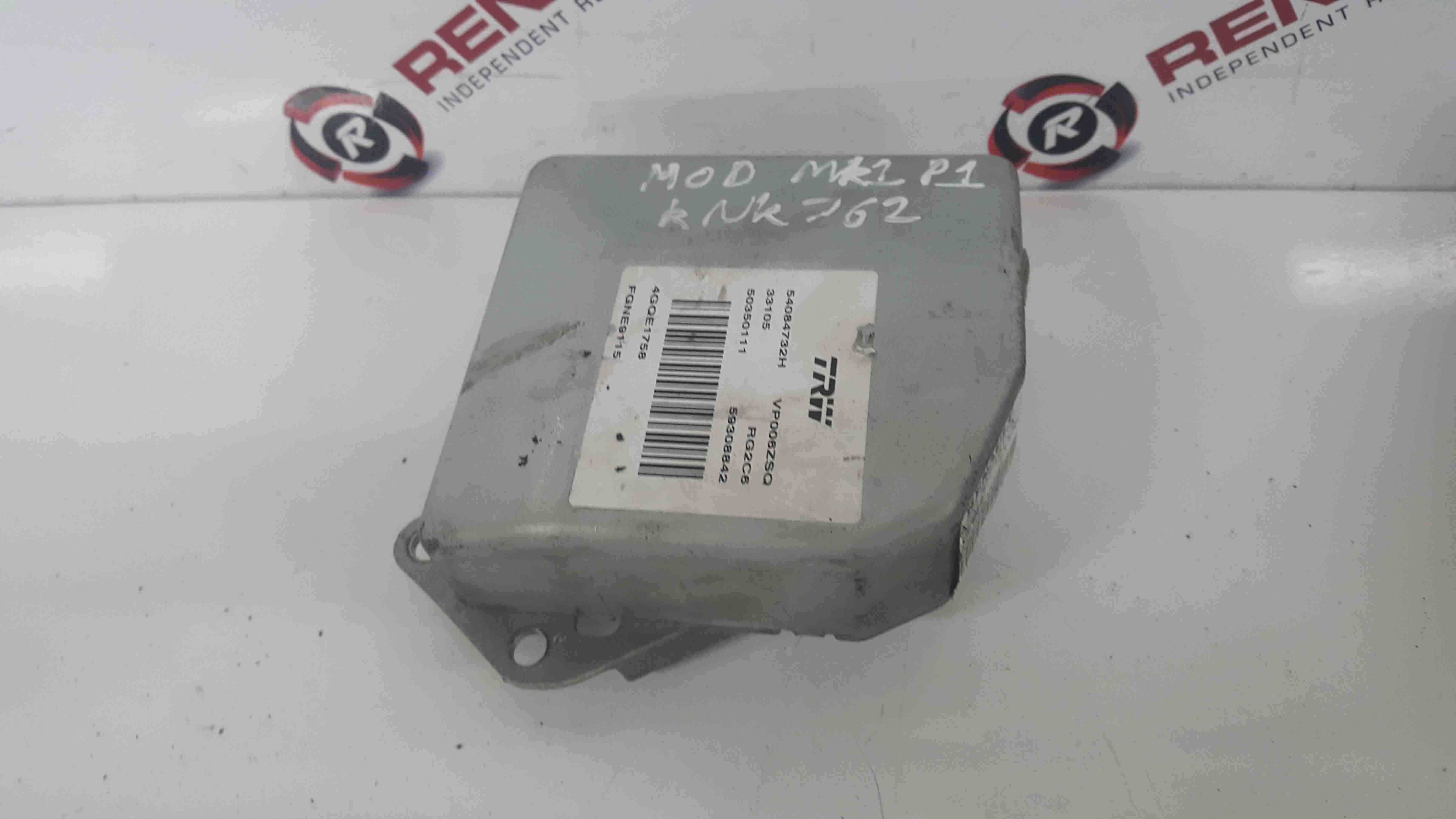Renault Modus 2004-2008 Steering ECU Module 8200826819