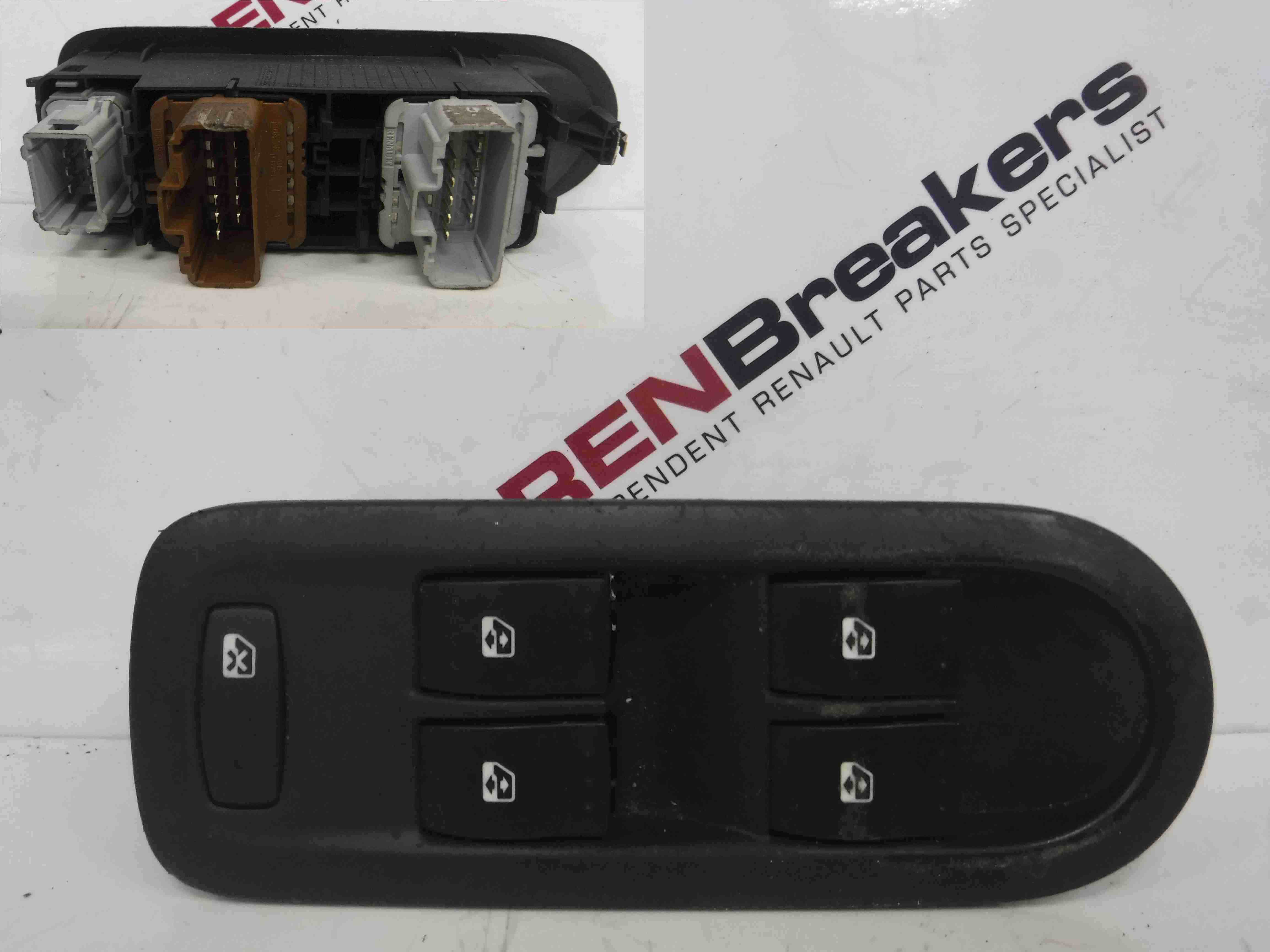 Renault Scenic 2003-2009 Drivers OSF Front Switches + Panel