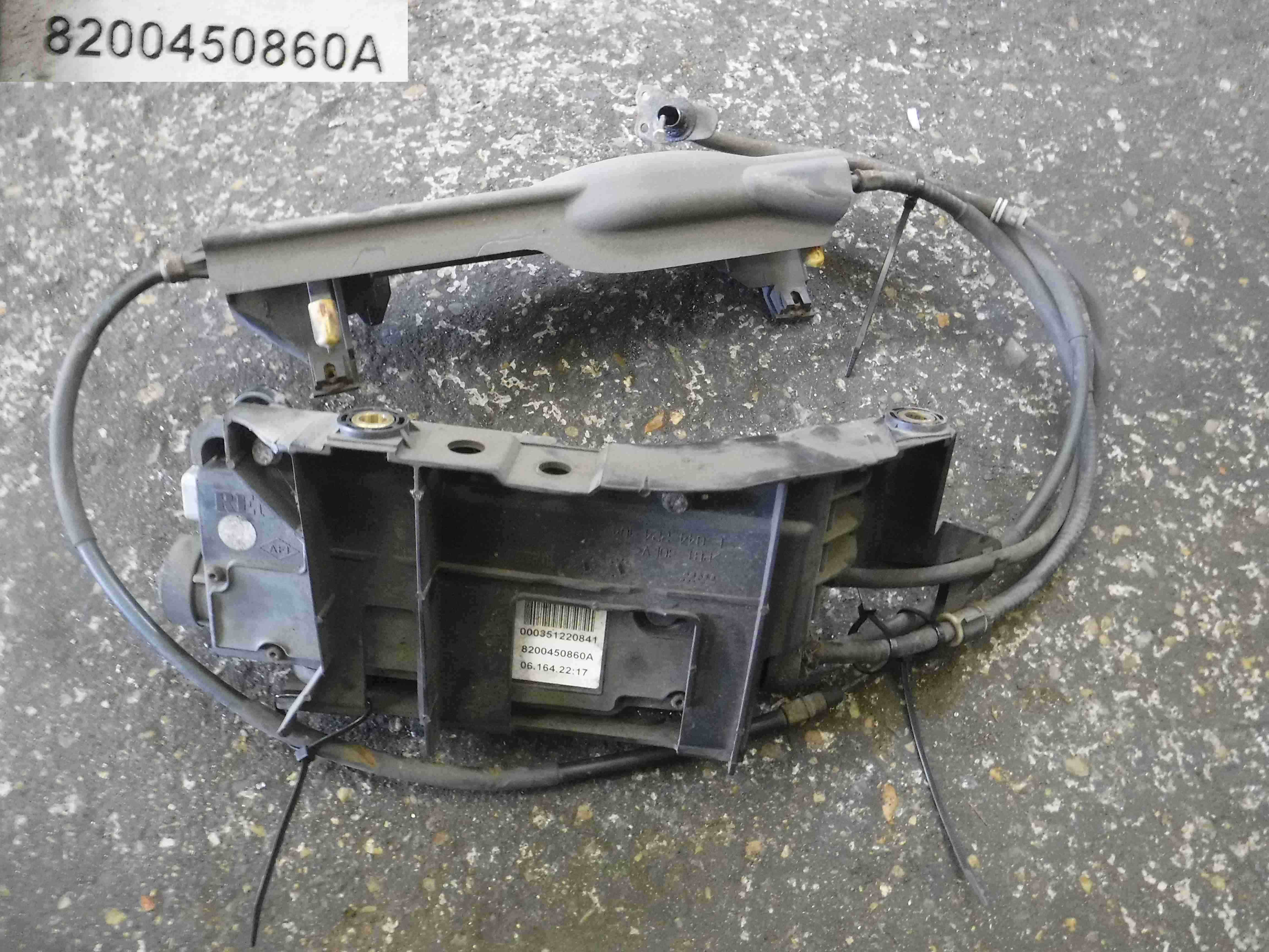Renault Scenic 2003-2009 Electronic Handbrake Motor + Cables 8200450860