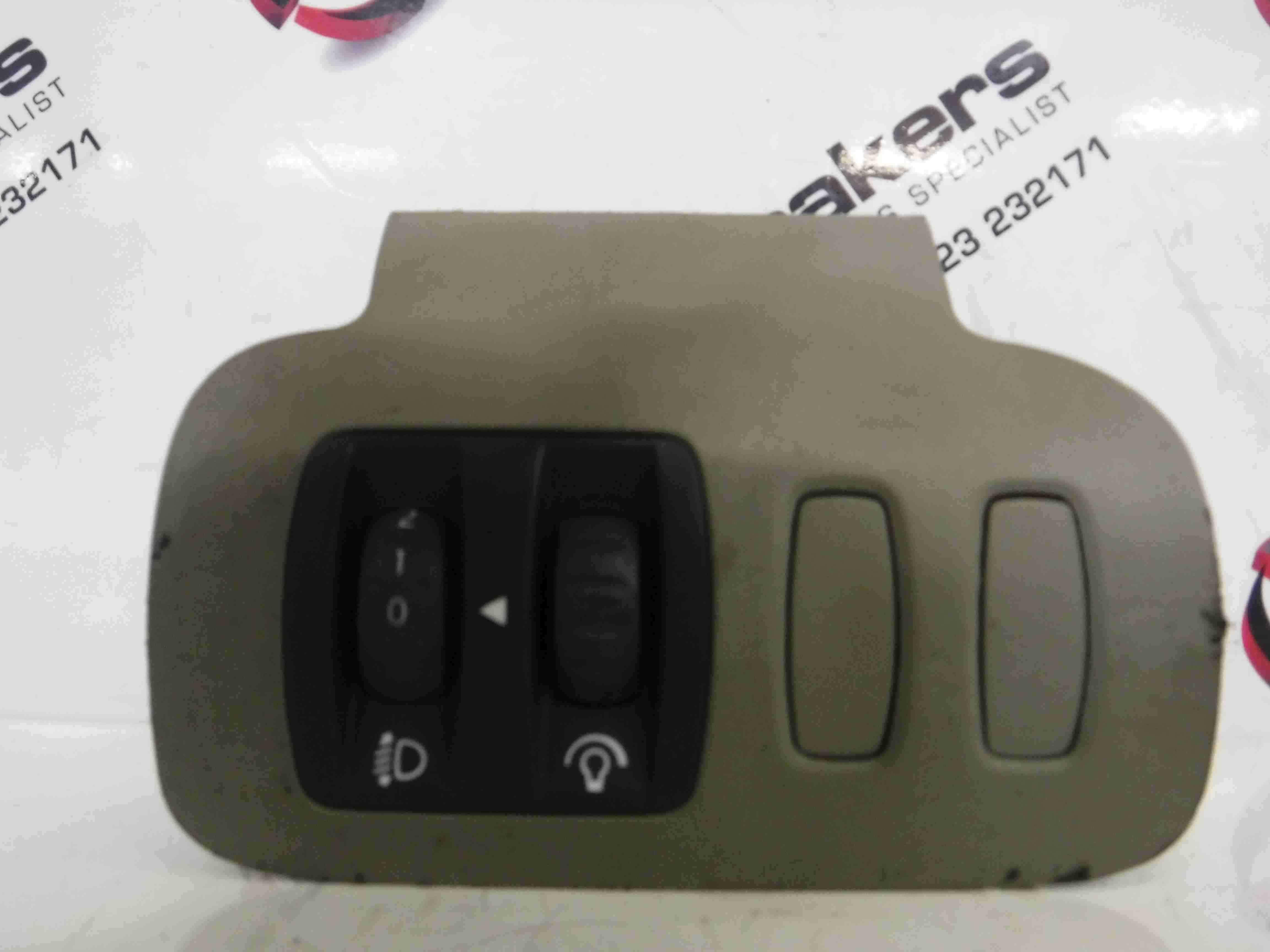 Renault Scenic 2003-2009 Headlight Adjuster Switch Grey Panel